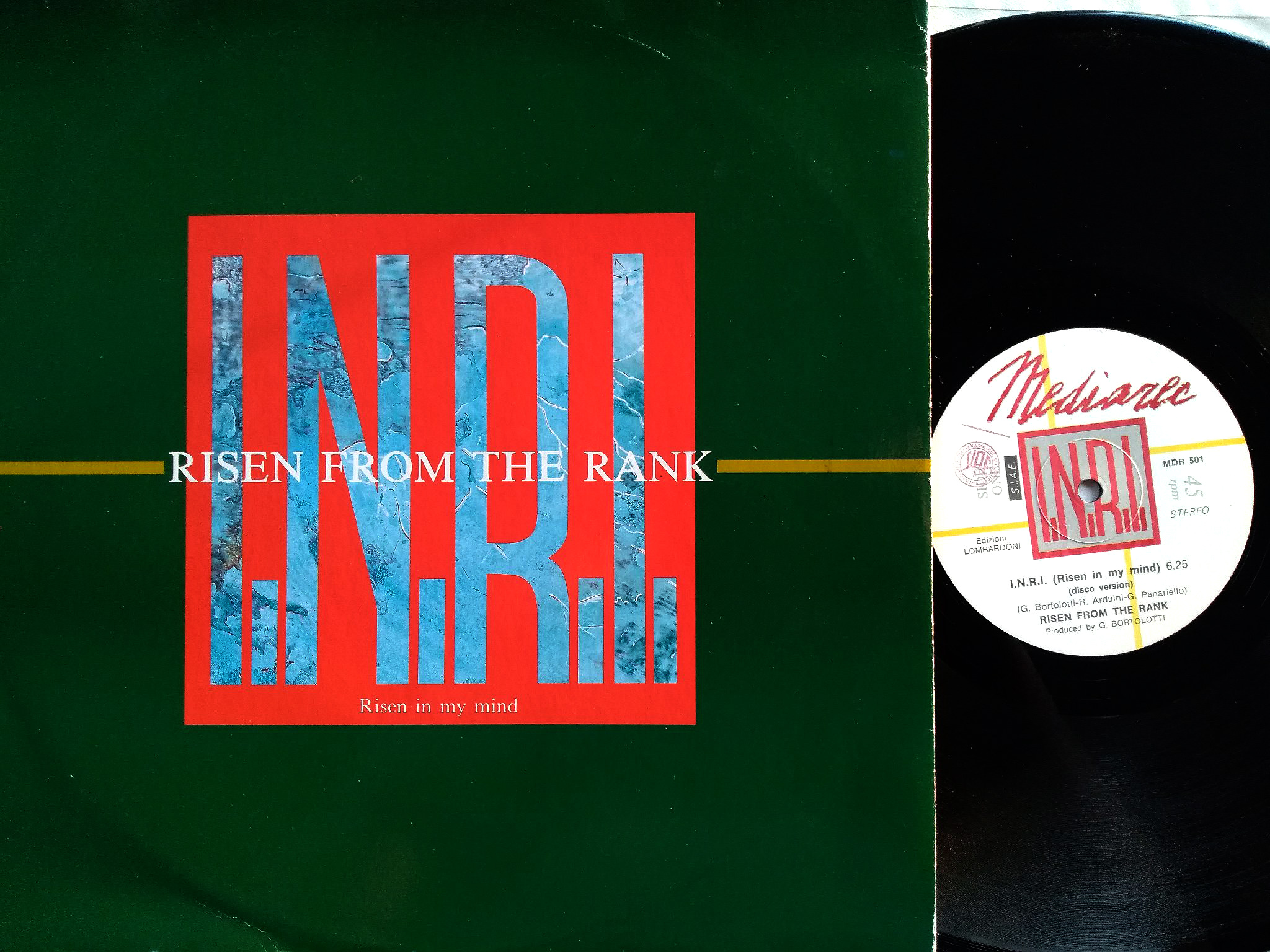 I.N.R.I. - Risen From The Rank