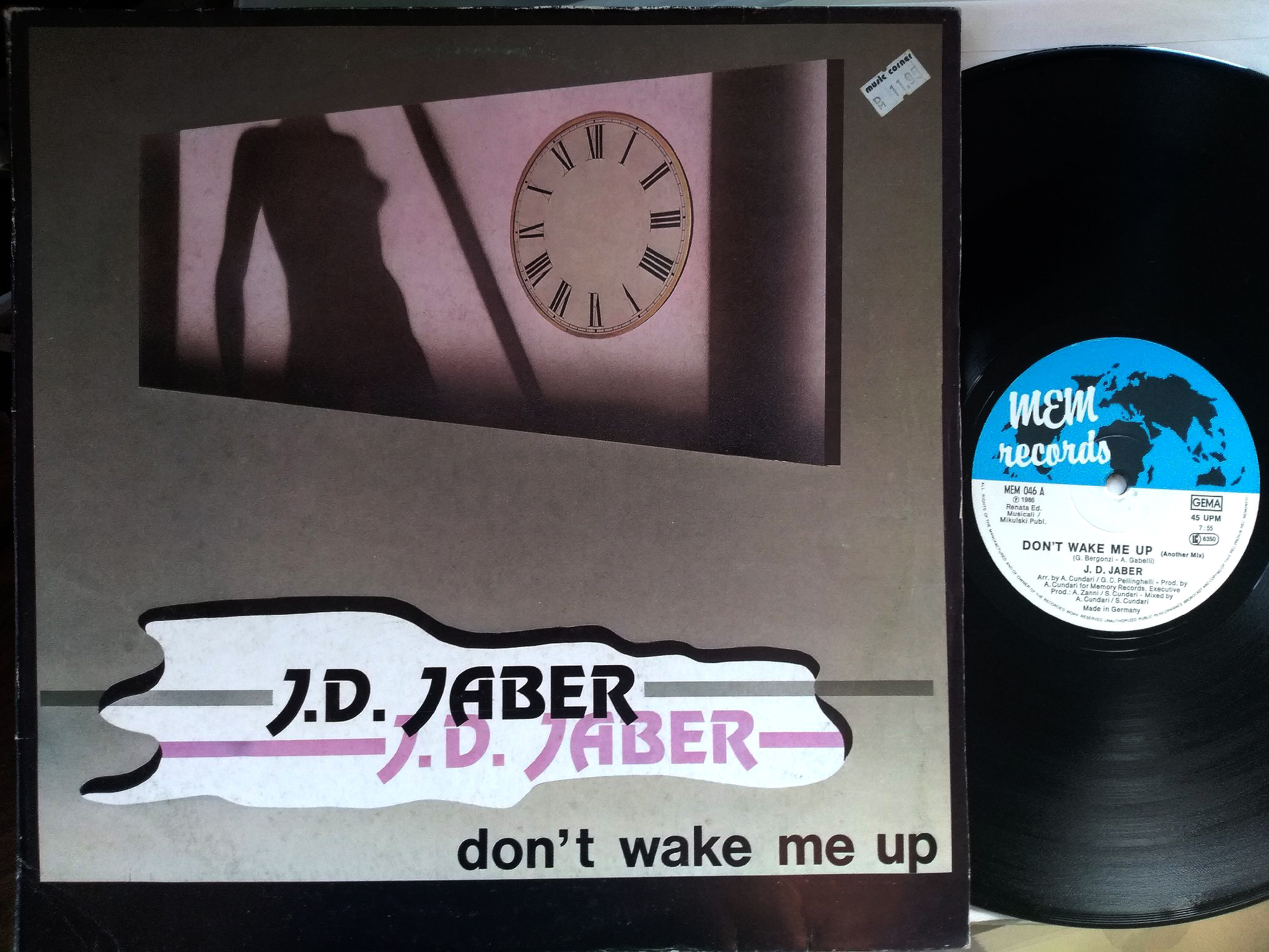 J. D. Jaber - Don't Wake Me Up