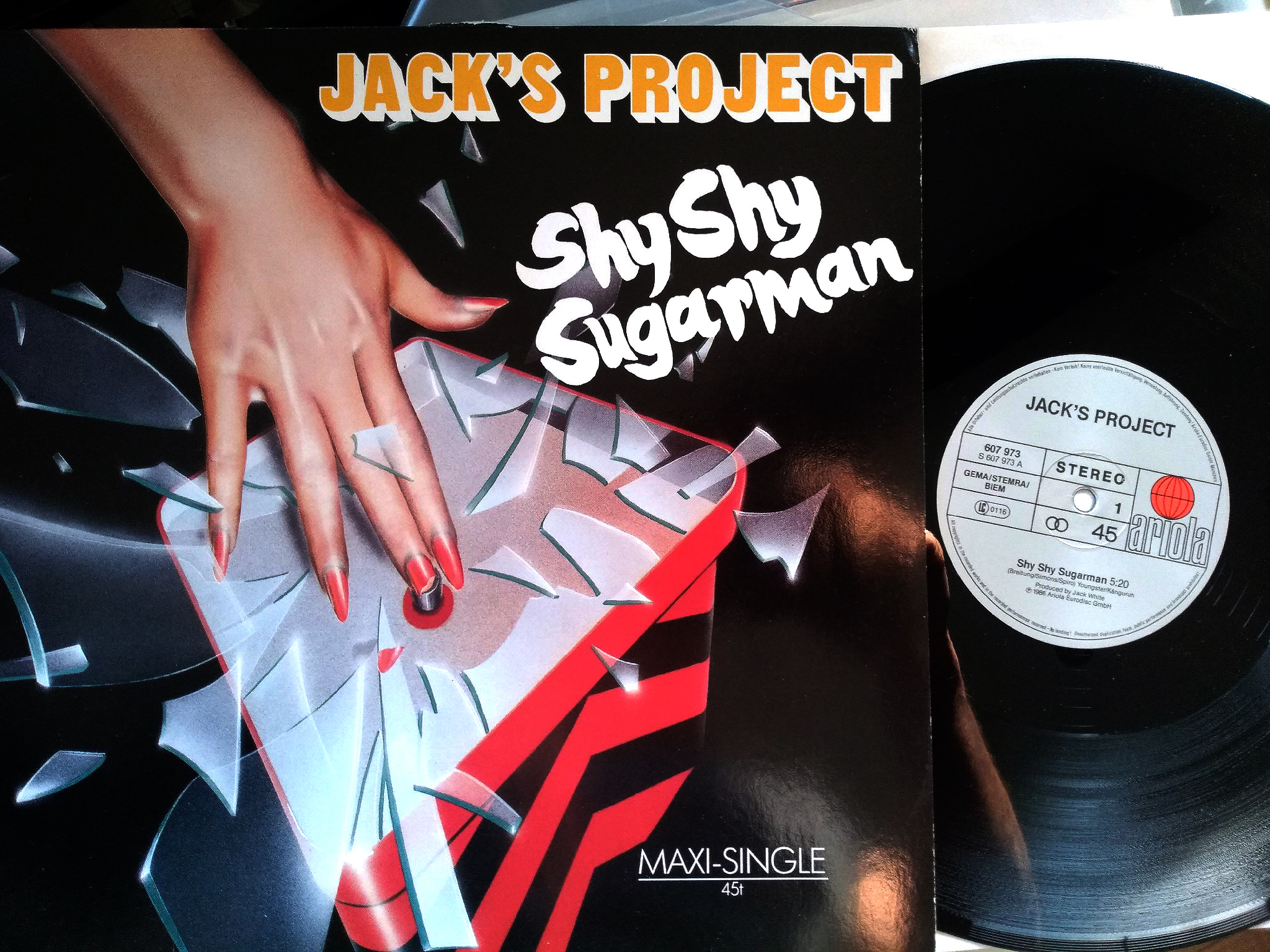 Jack's Project ‎- Shy Shy Sugarman