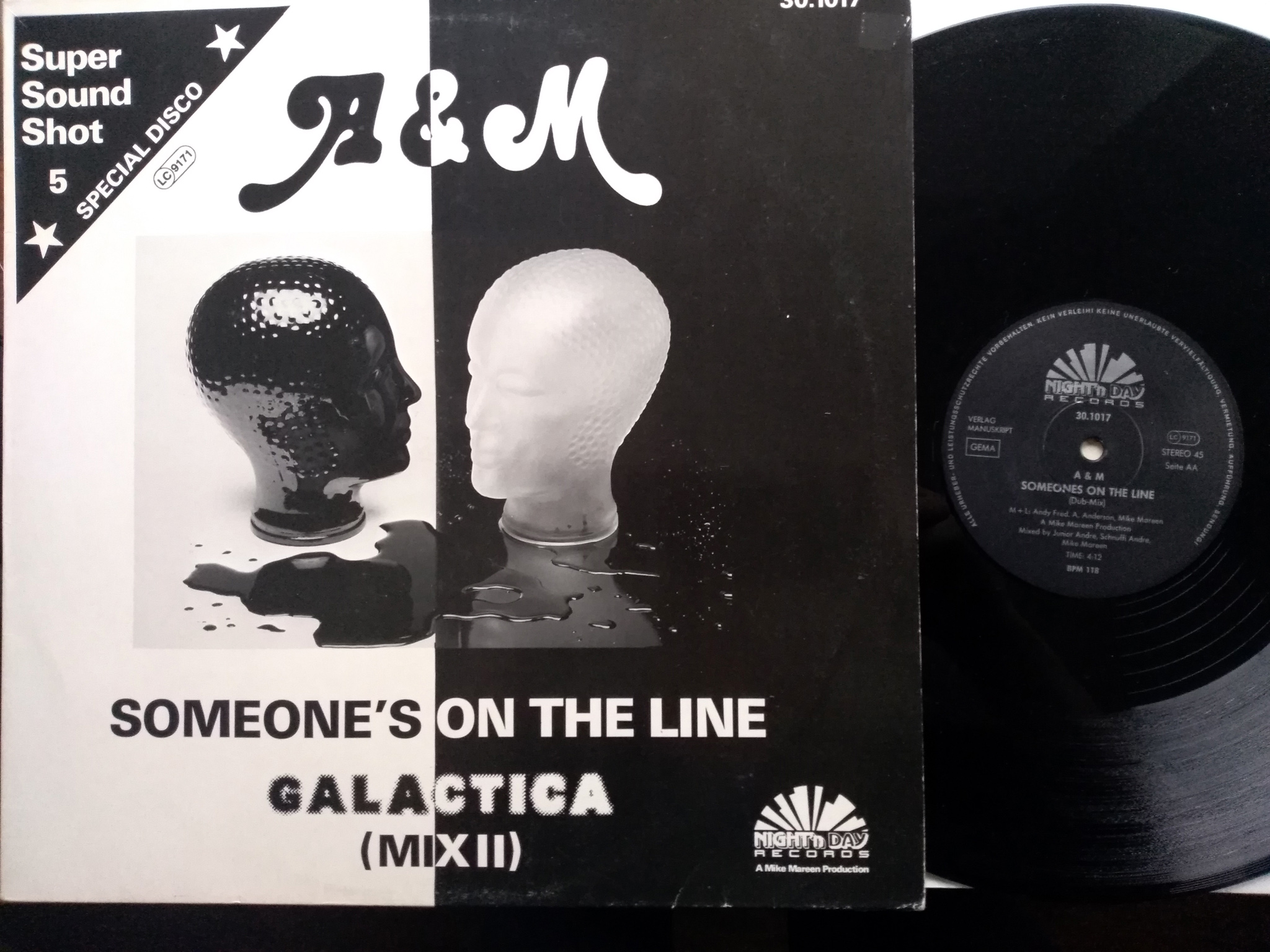 A and M - Someone's On The Line