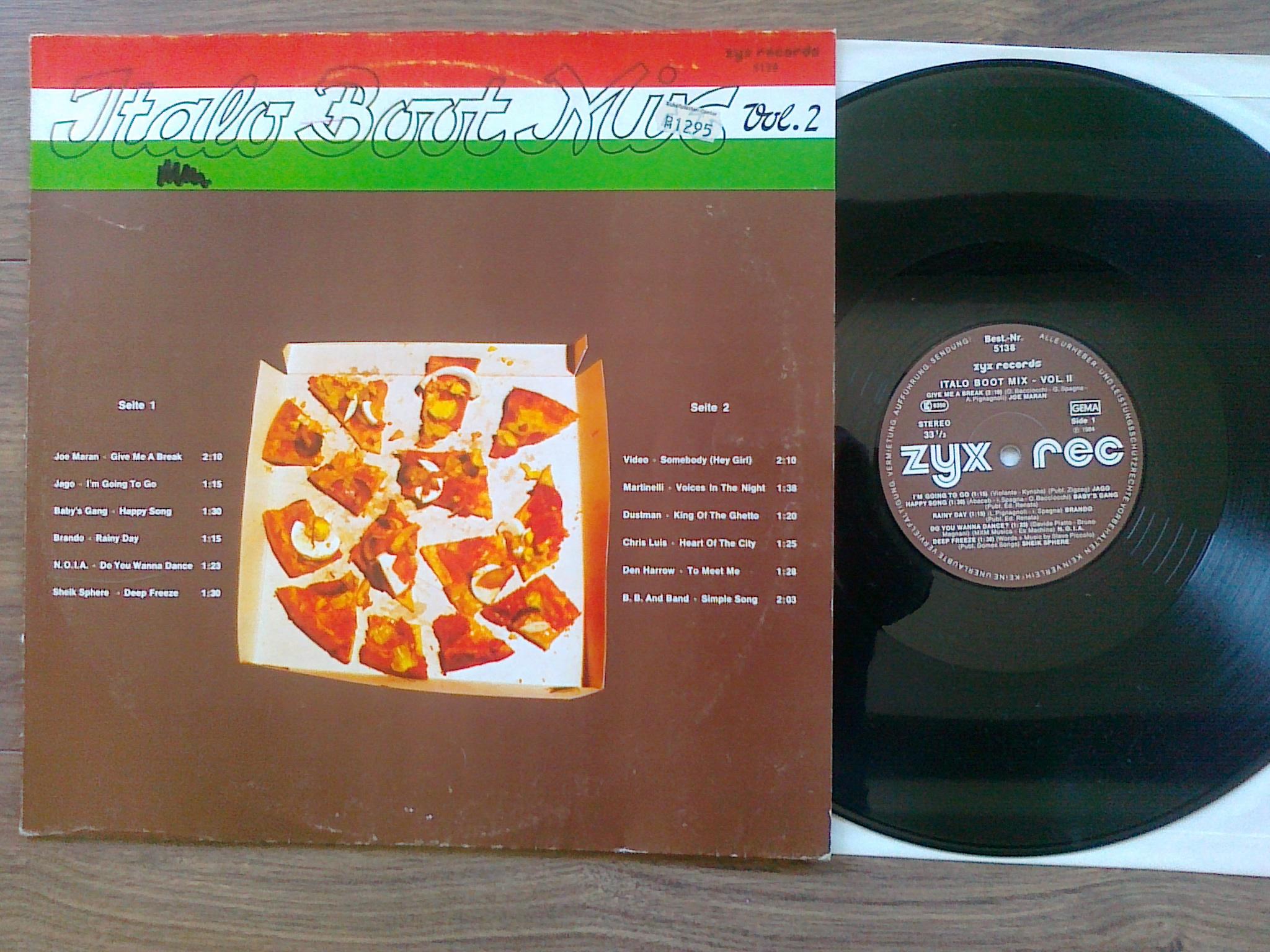 Italo Boot Mix - Vol.02 1984