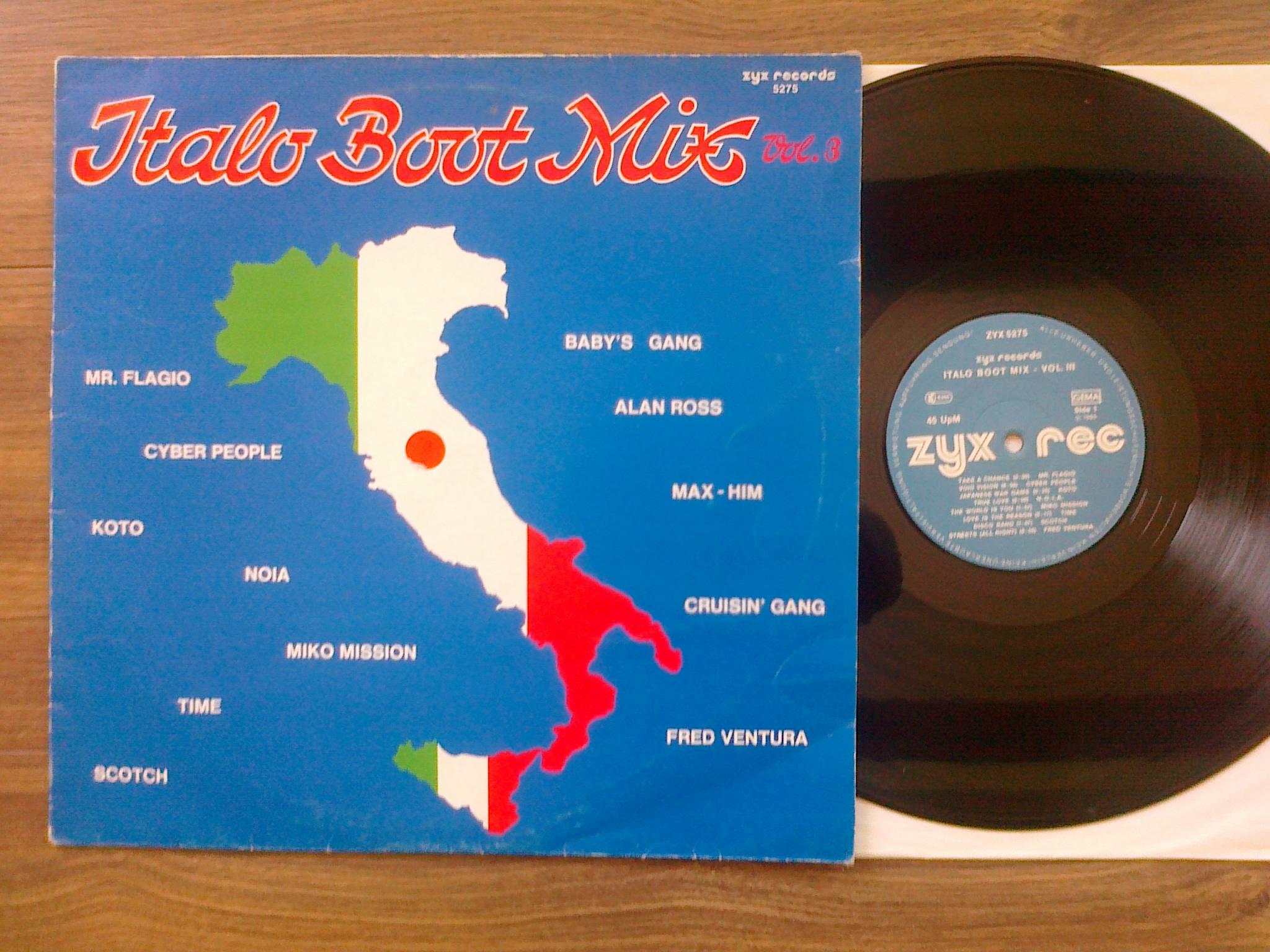 Italo Boot Mix - Vol.03 1985