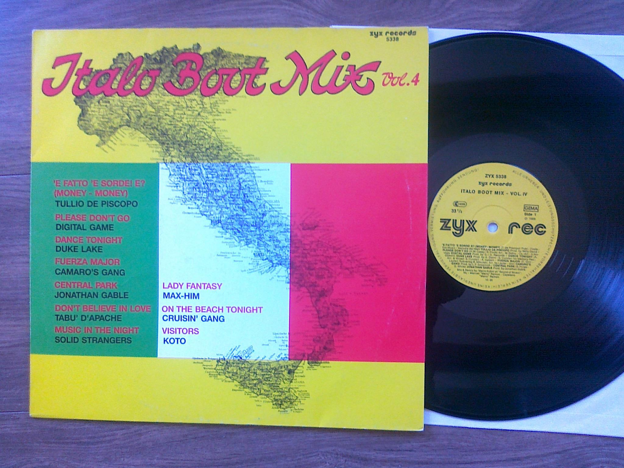 Italo Boot Mix - Vol.04 1985