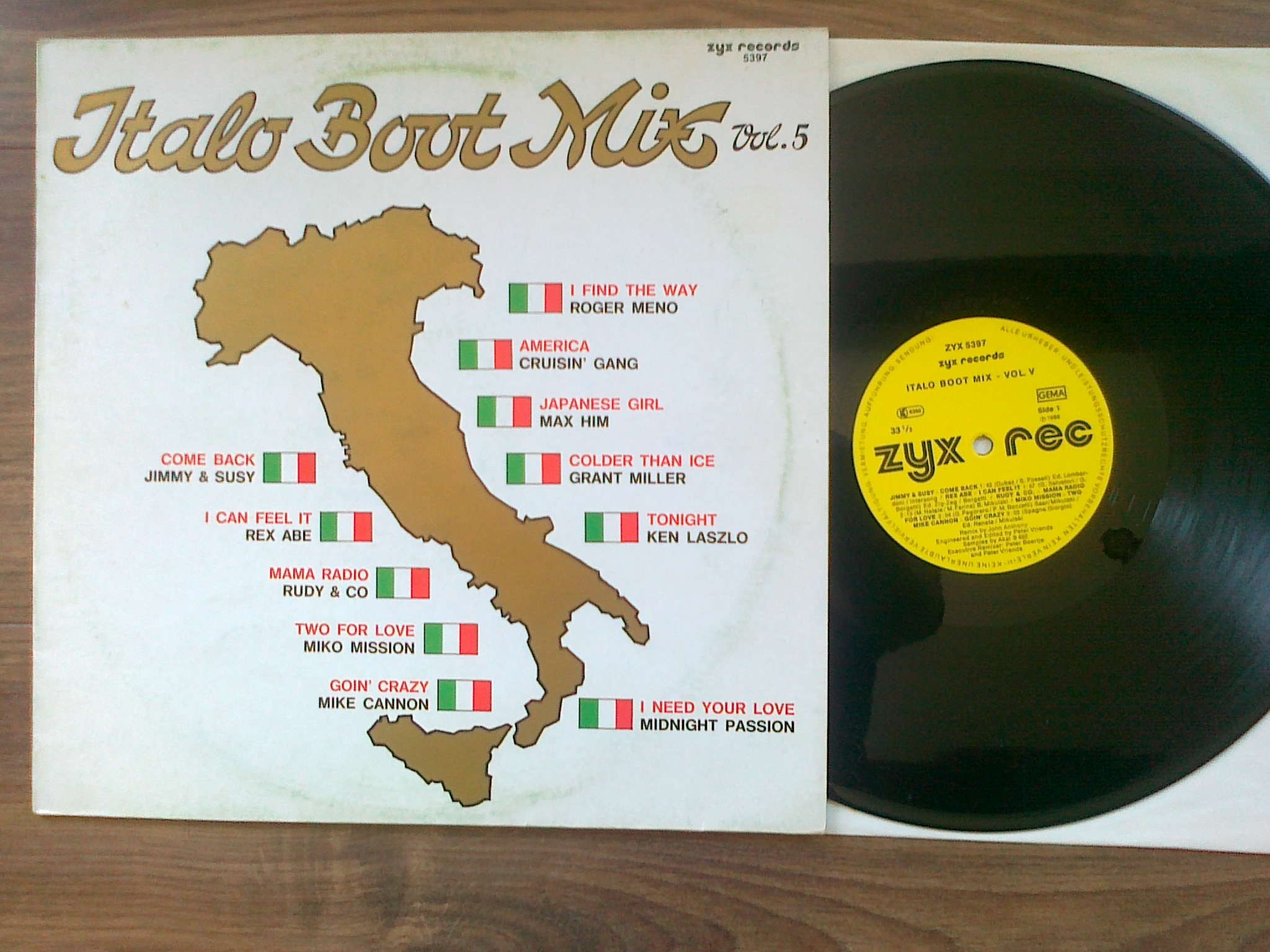 Italo Boot Mix - Vol.05 1986