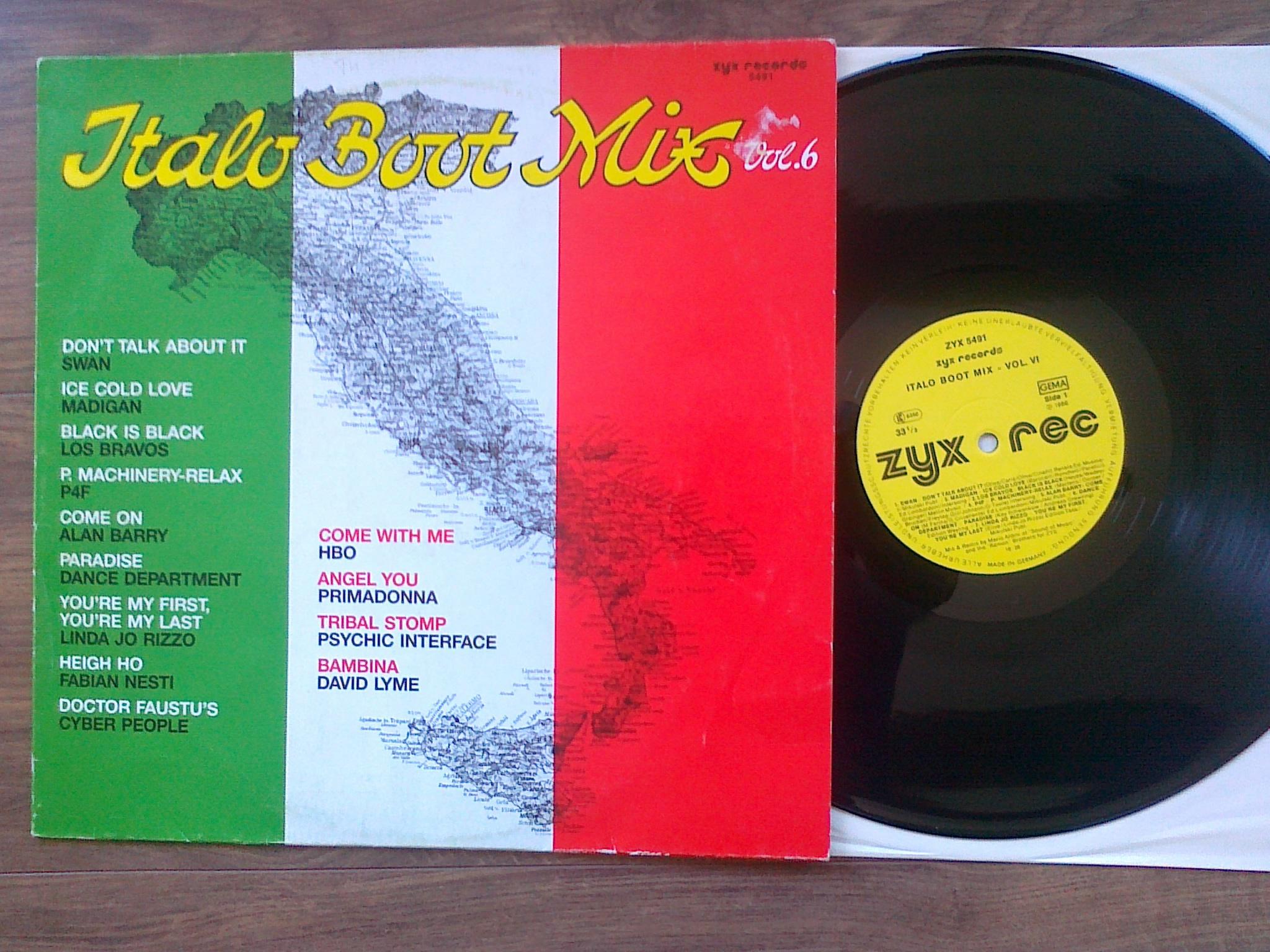 Italo Boot Mix - Vol.06 1986