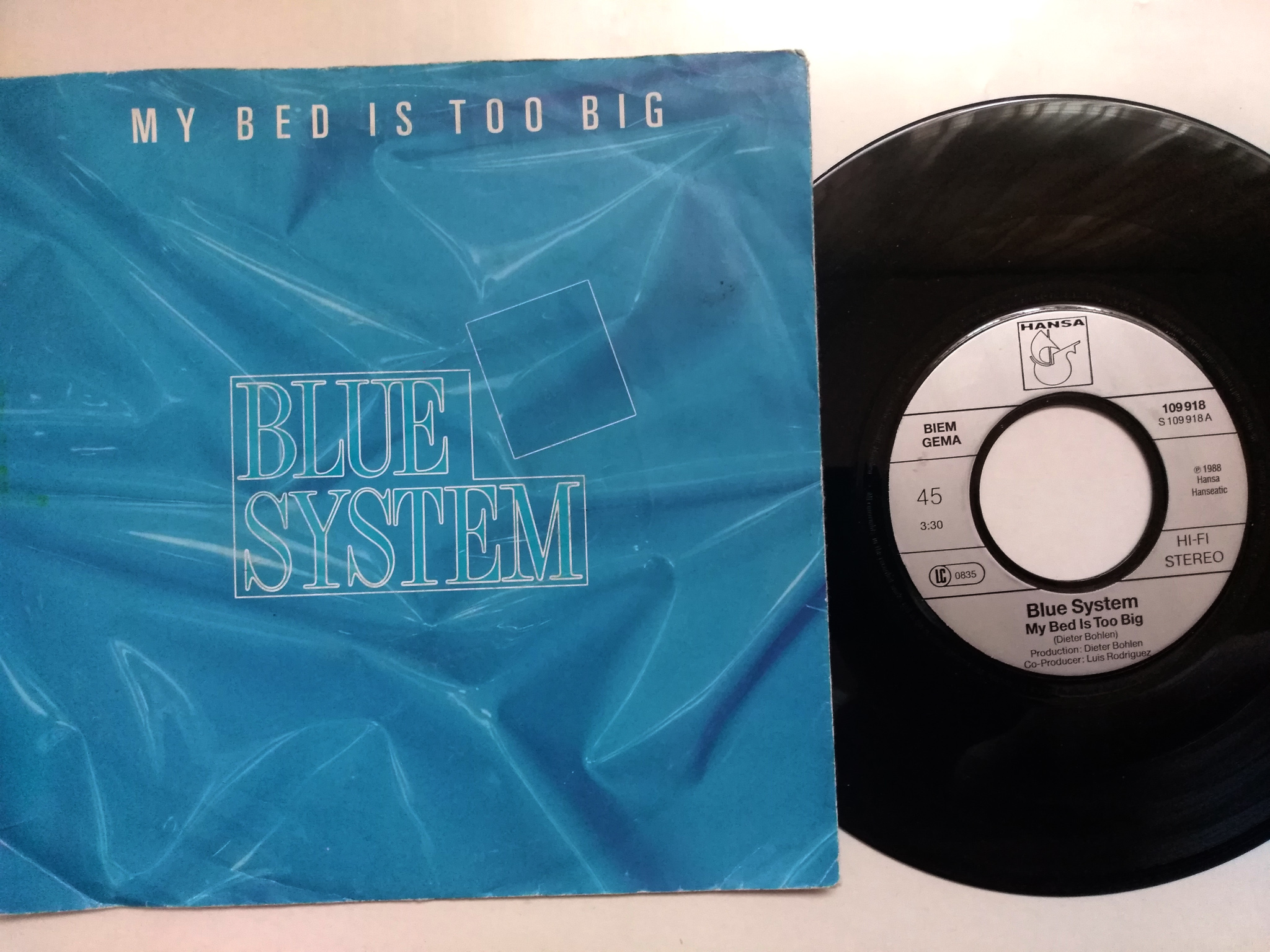 Blue System - My Bed Is Too Big 7'