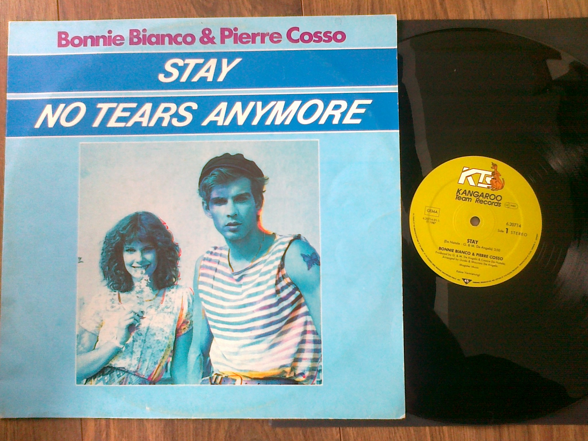 Bonnie Bianco and Pierre Cosso - Stay