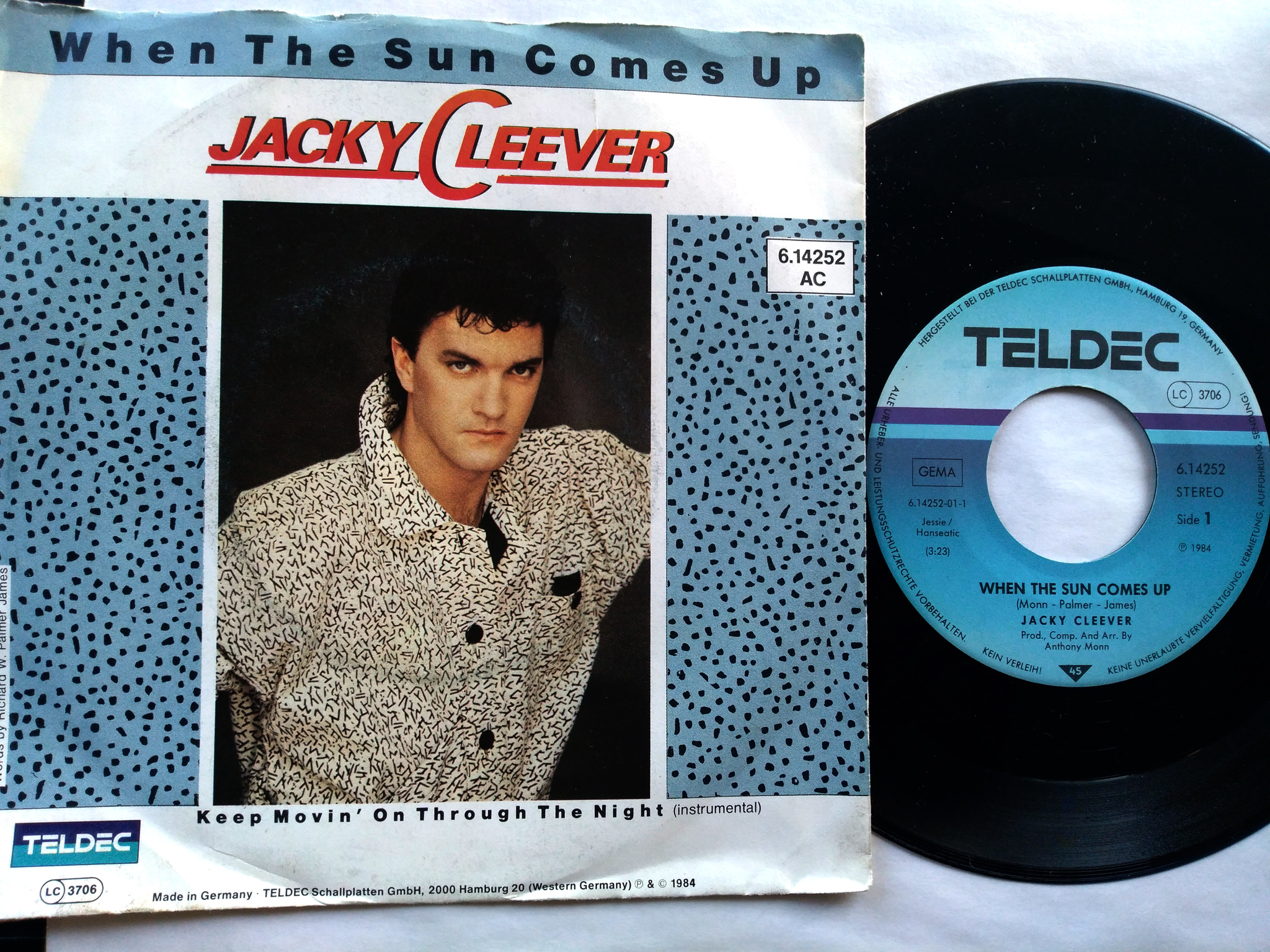 Jacky Cleever - When The Sun Comes Up 7'