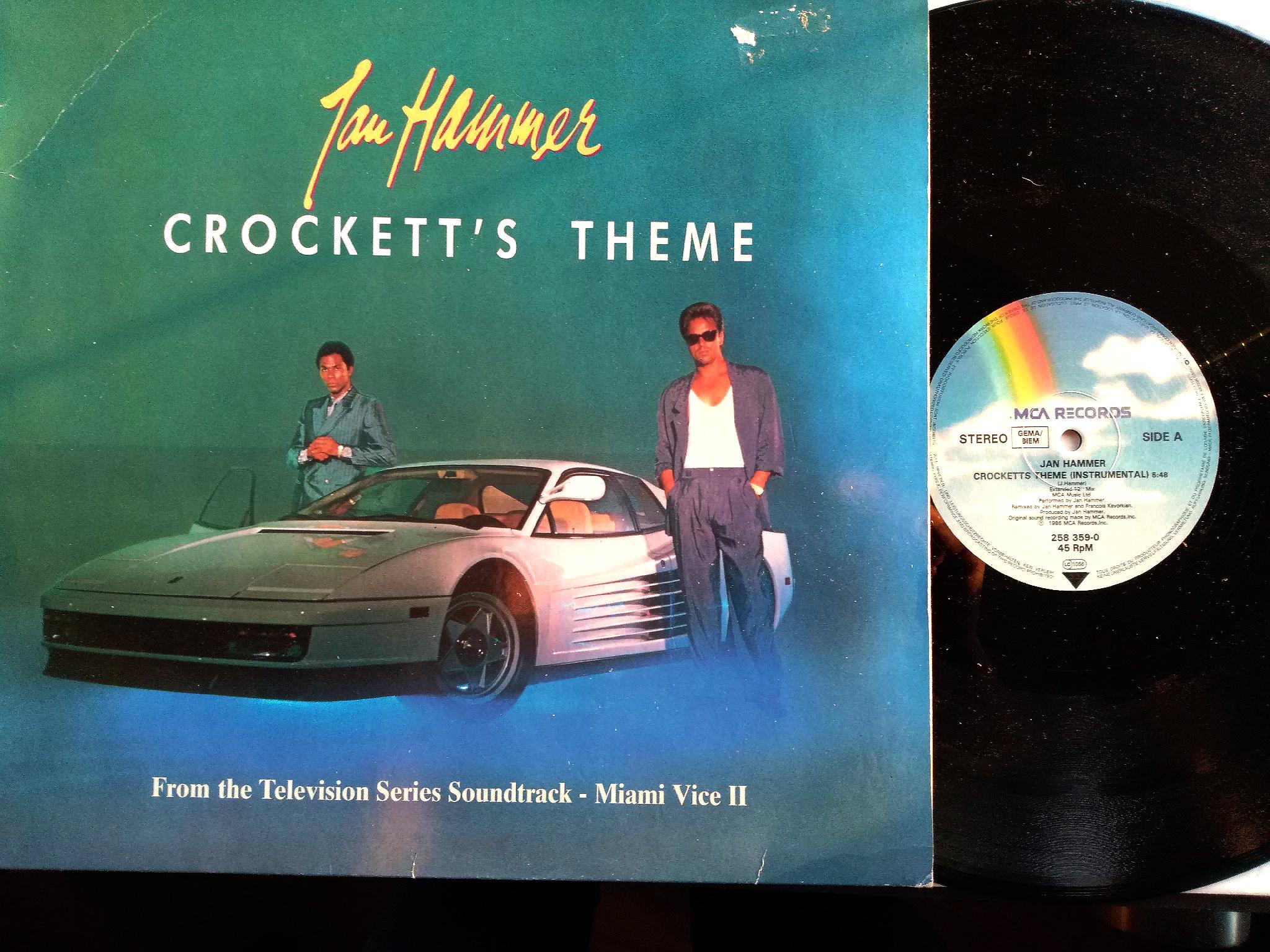 Jan Hammer - Crocett's Theme