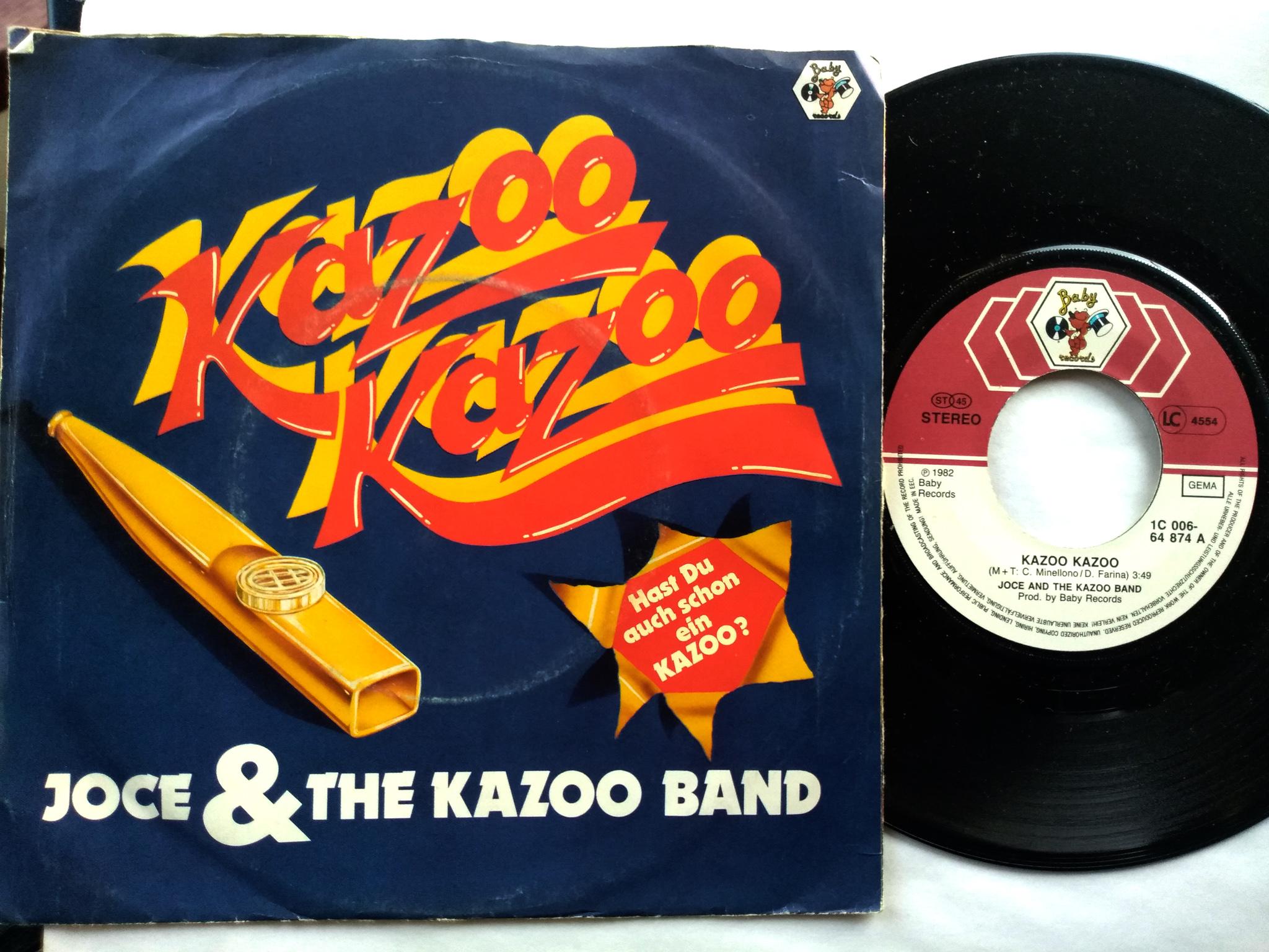 Joce and The Kazoo Band 7'