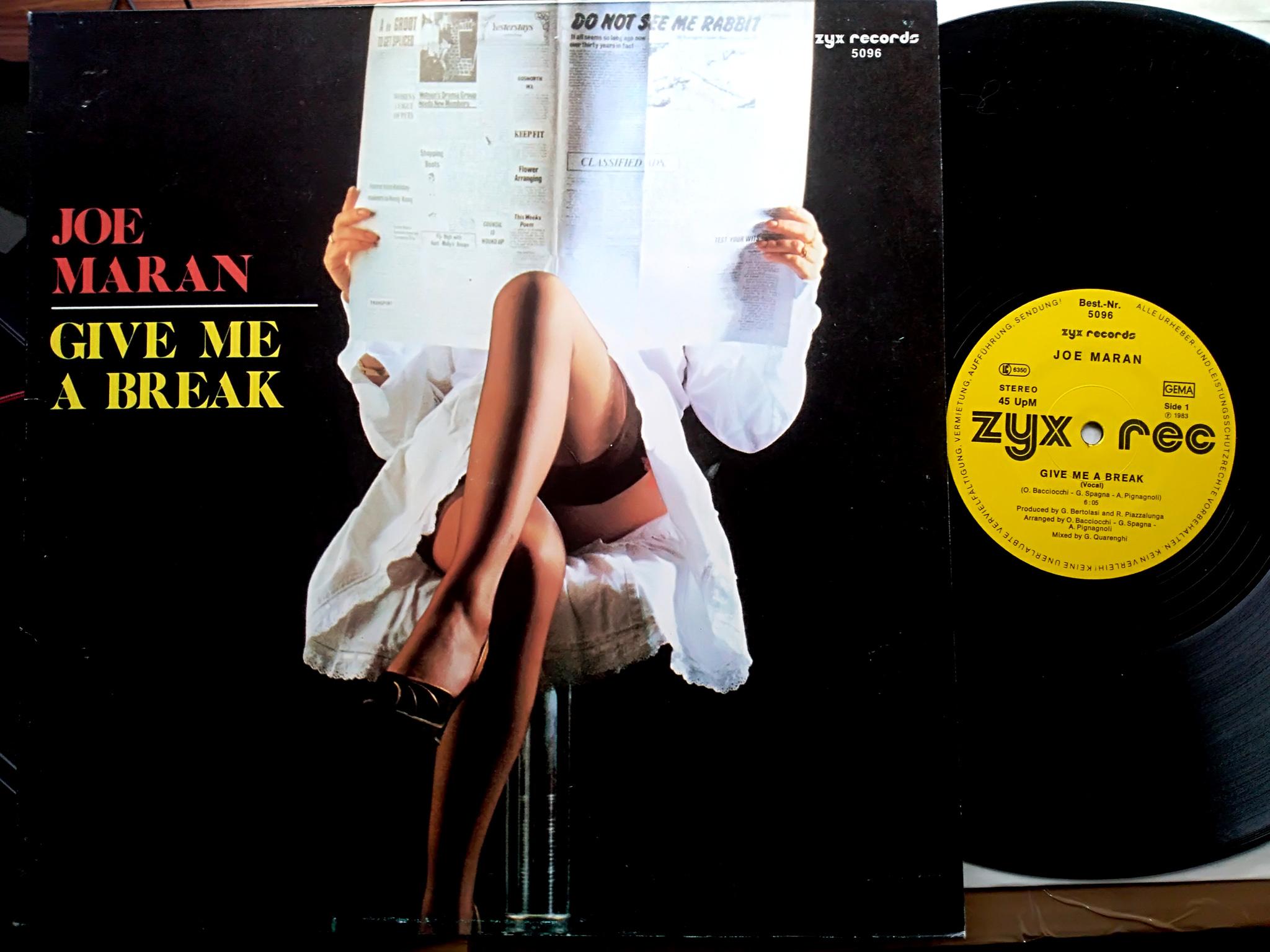 Joe Maran - Give  Me A Break
