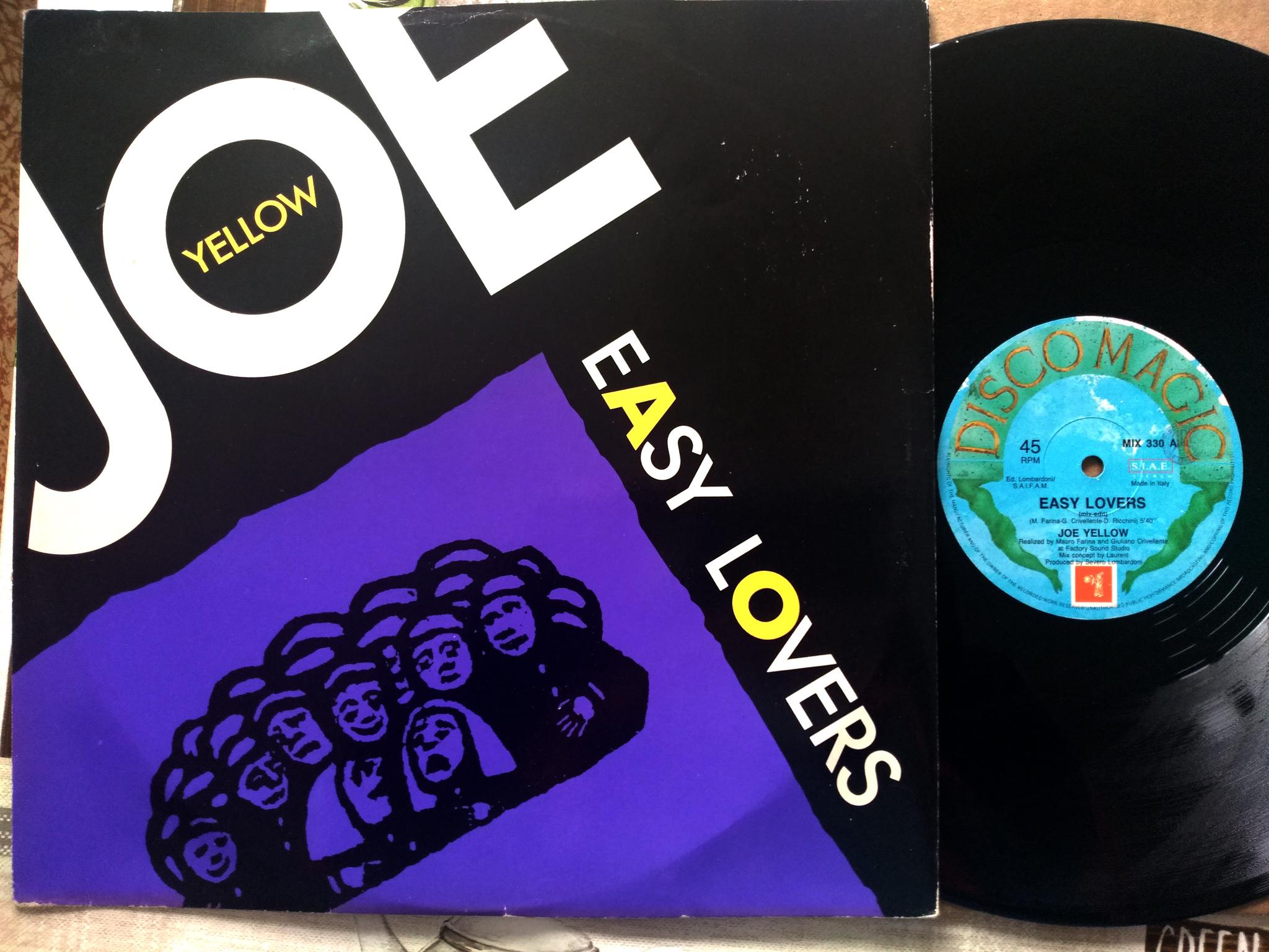 Joe Yellow - Easy Lovers