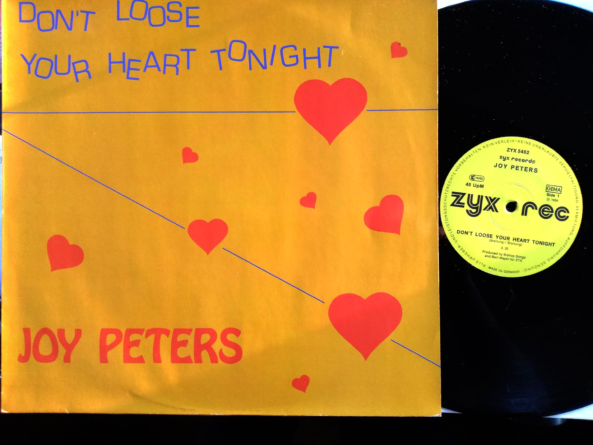 Joy Peters - Don't Loose Your Heart Tonight