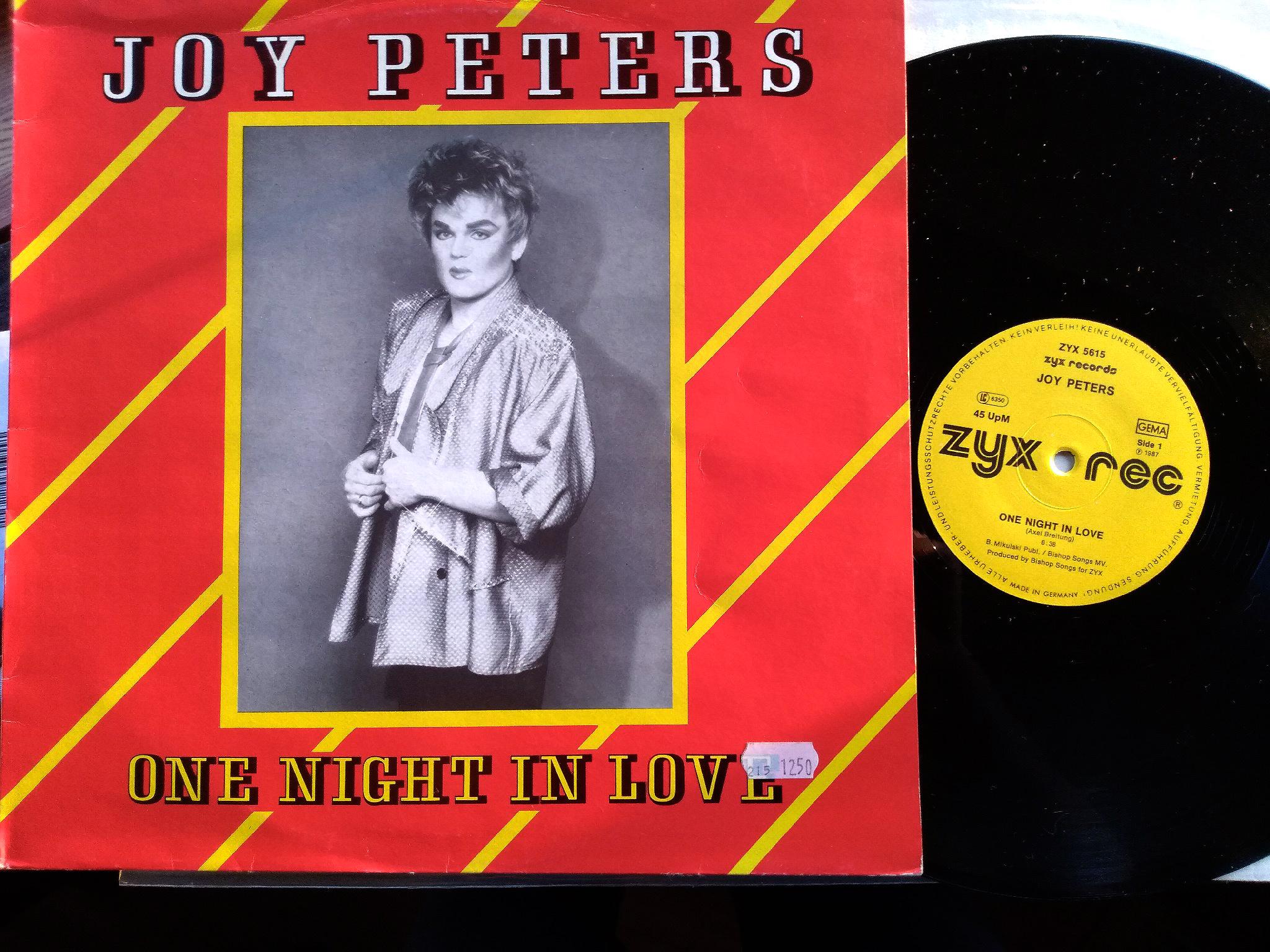 Joy Peters - One Night In Love