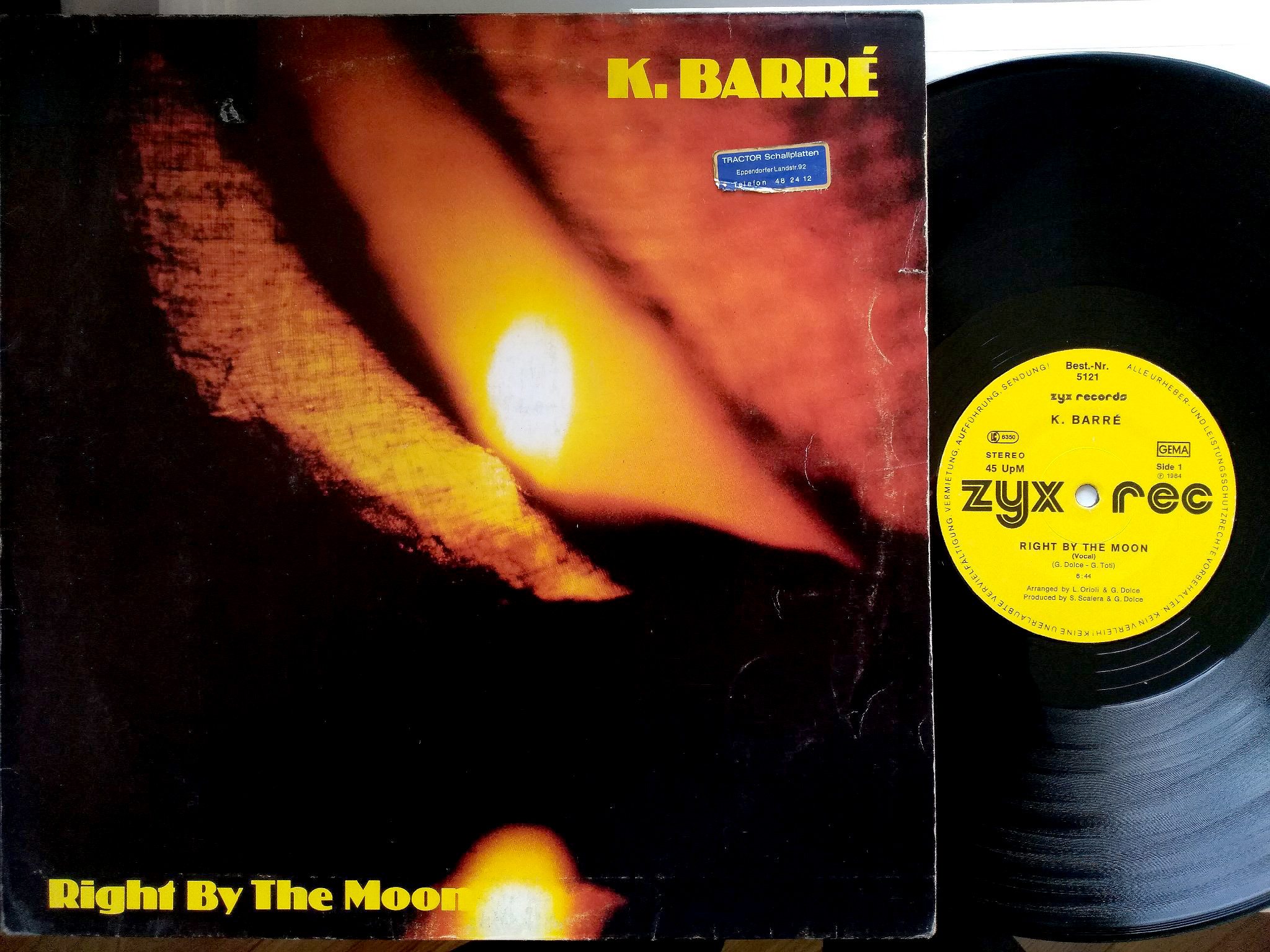 K. Barré - Right By The Moon
