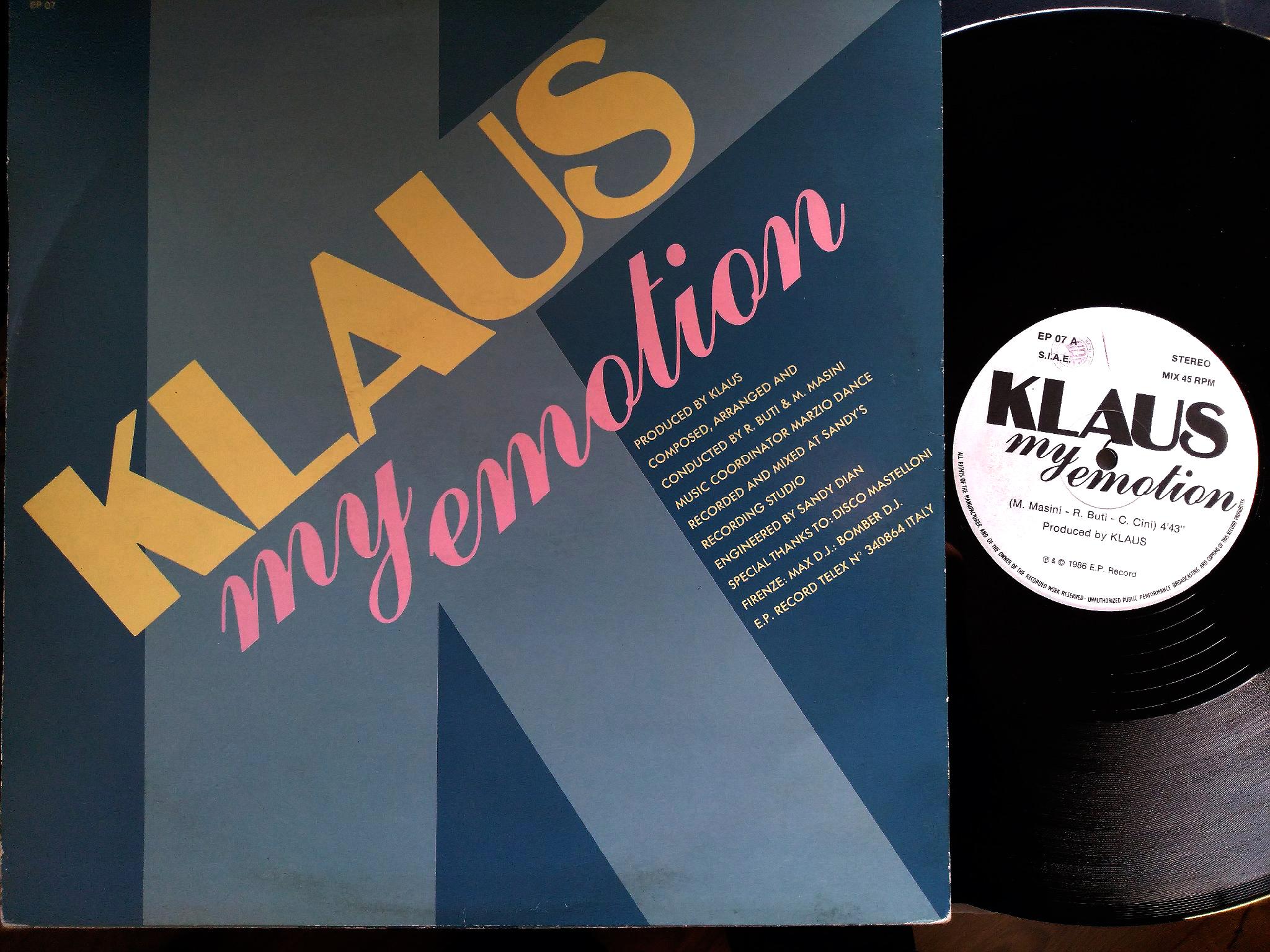 Klaus - My Emotion