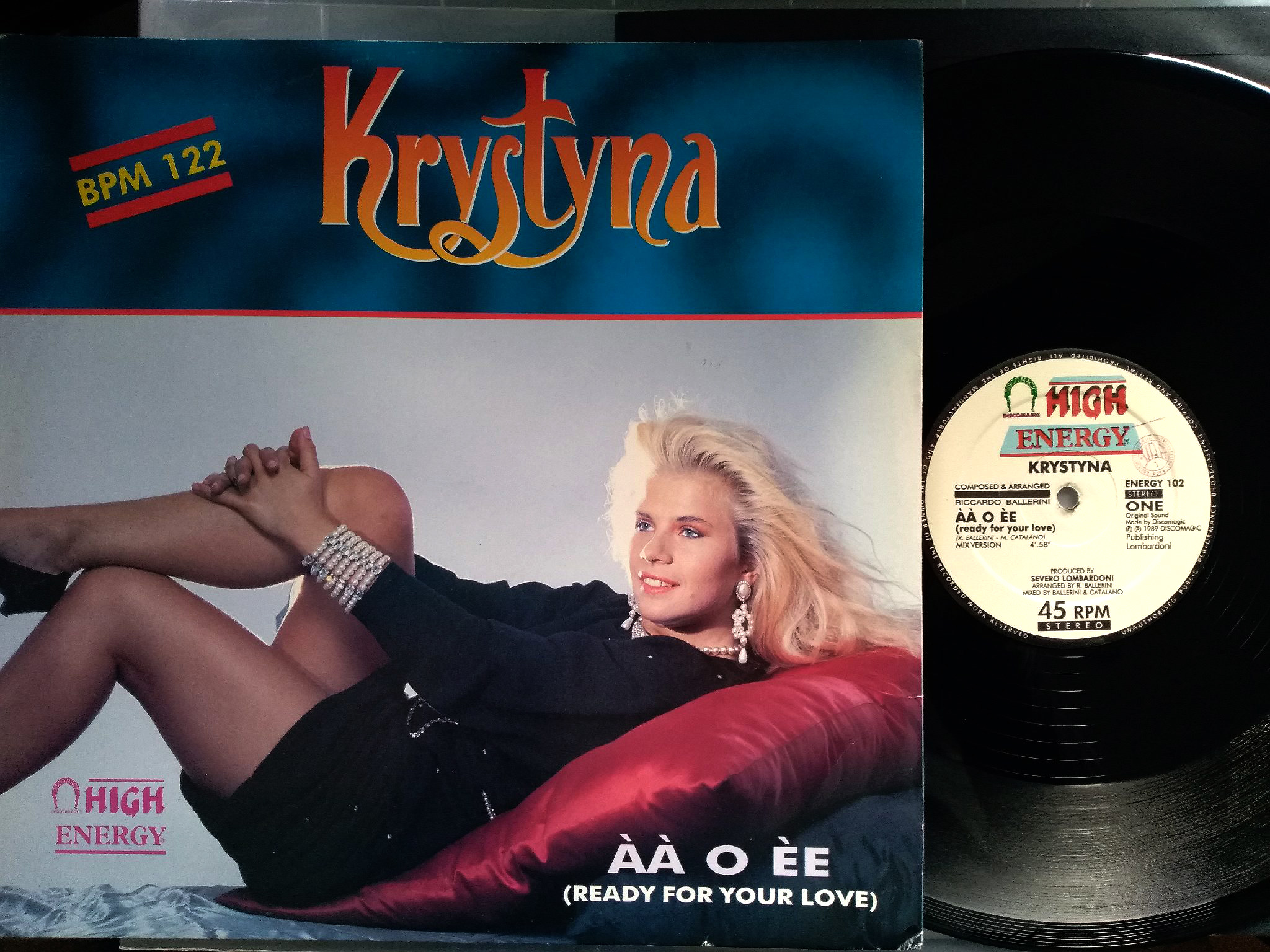 Krystyna - AA O EE (Ready For Your Love)