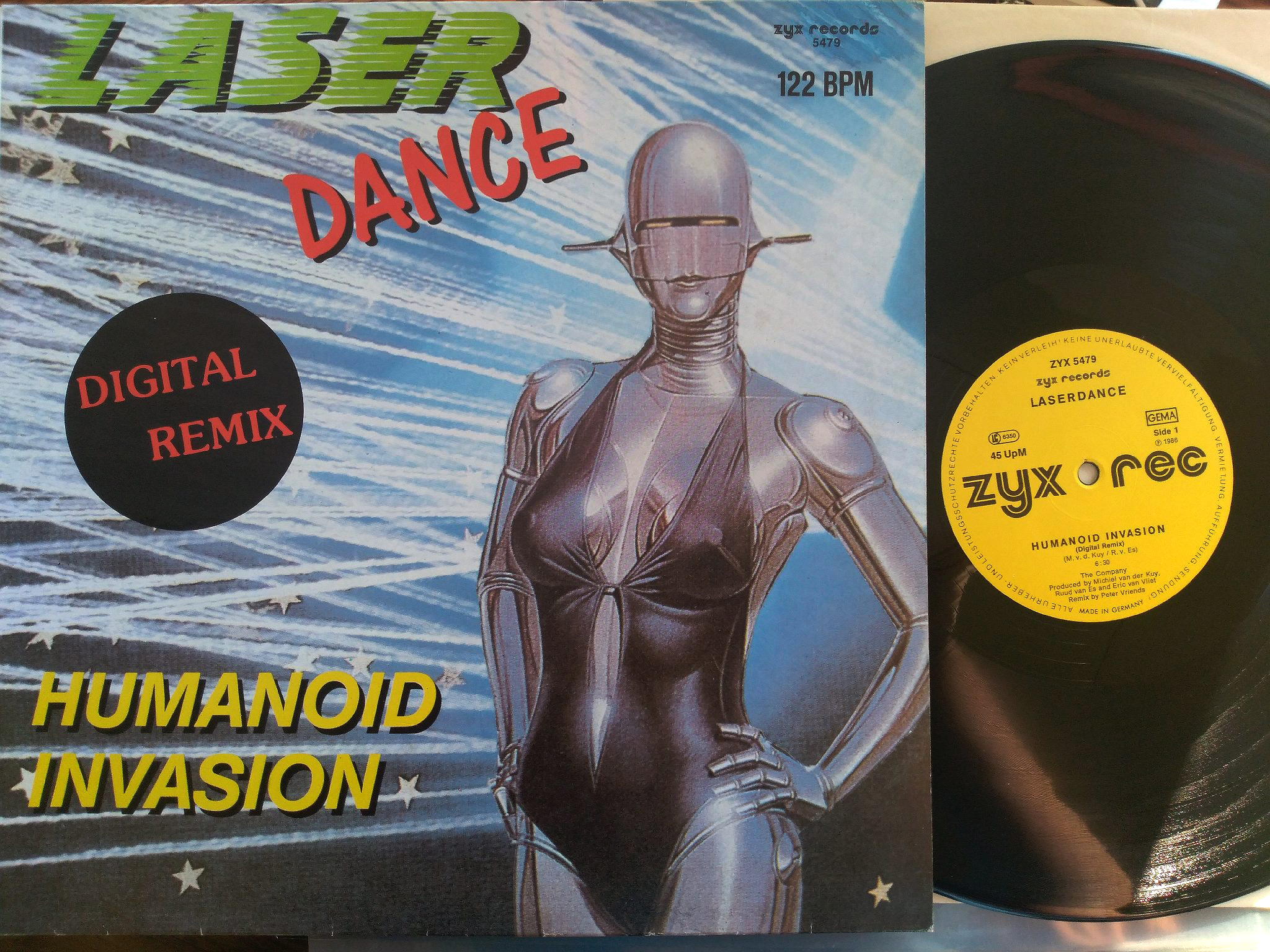 Laser Dance - Humanoid Invasion