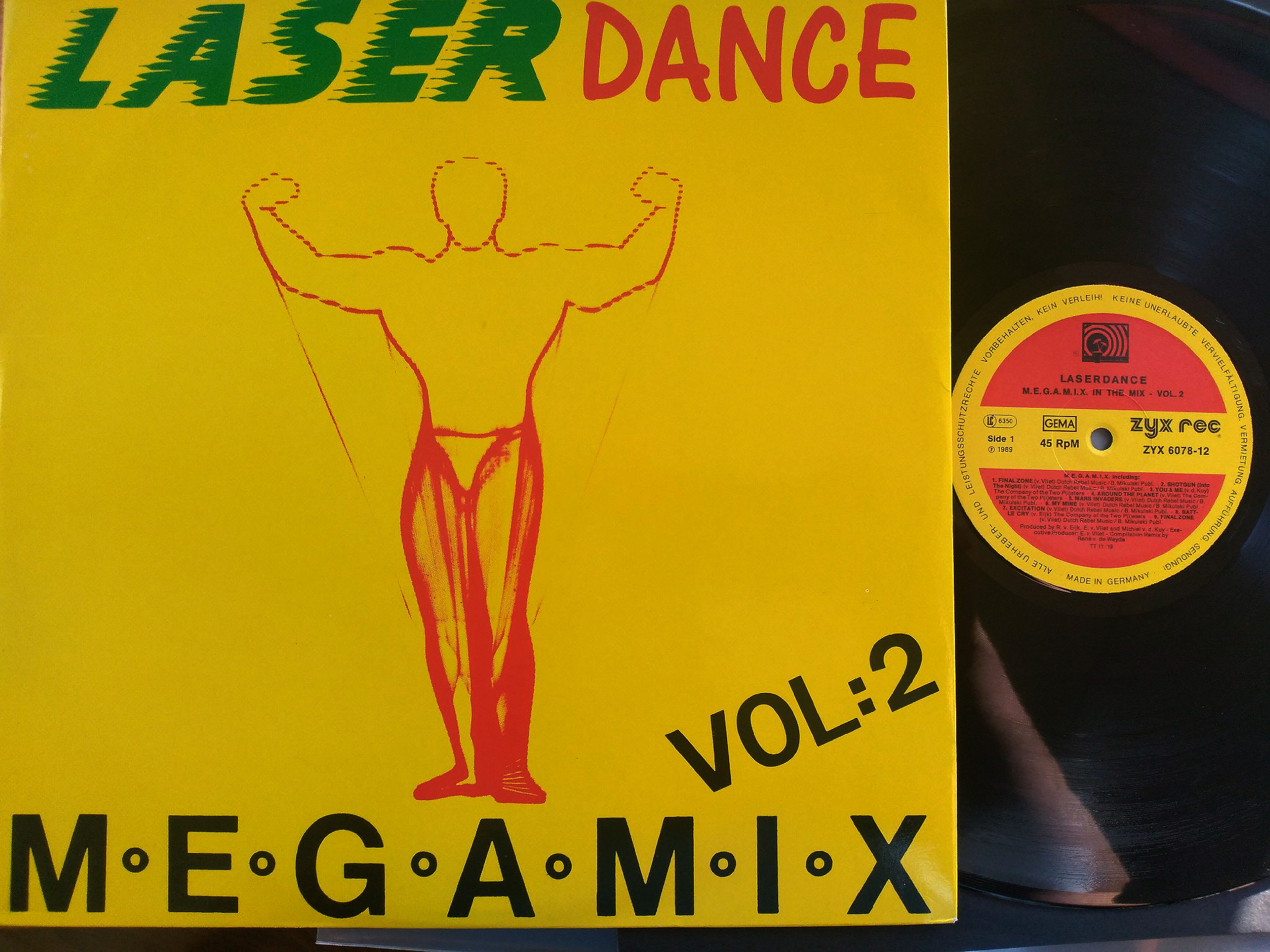 Laser Dance - Megamix Vol. 2