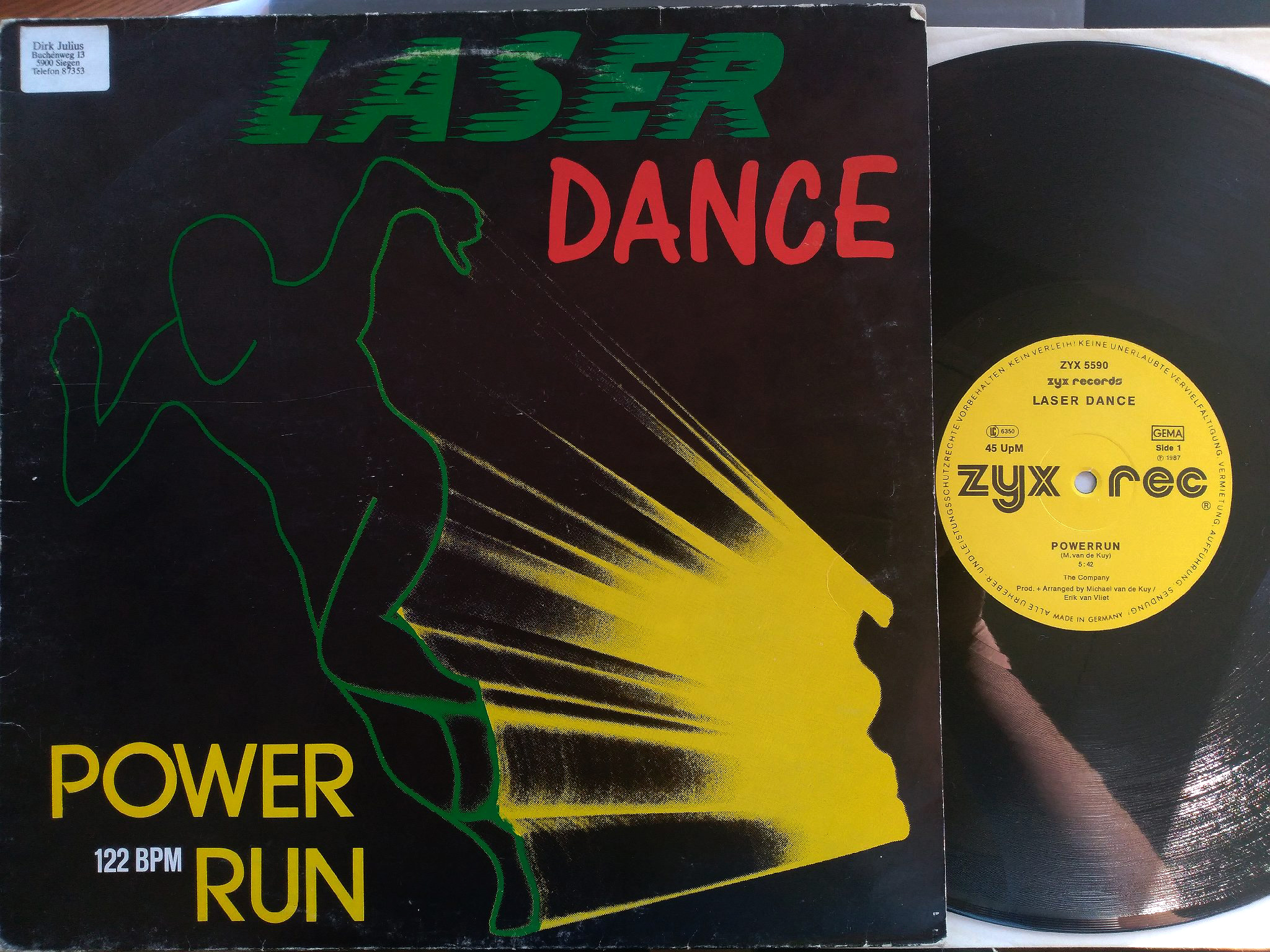 Laser Dance - Power Run