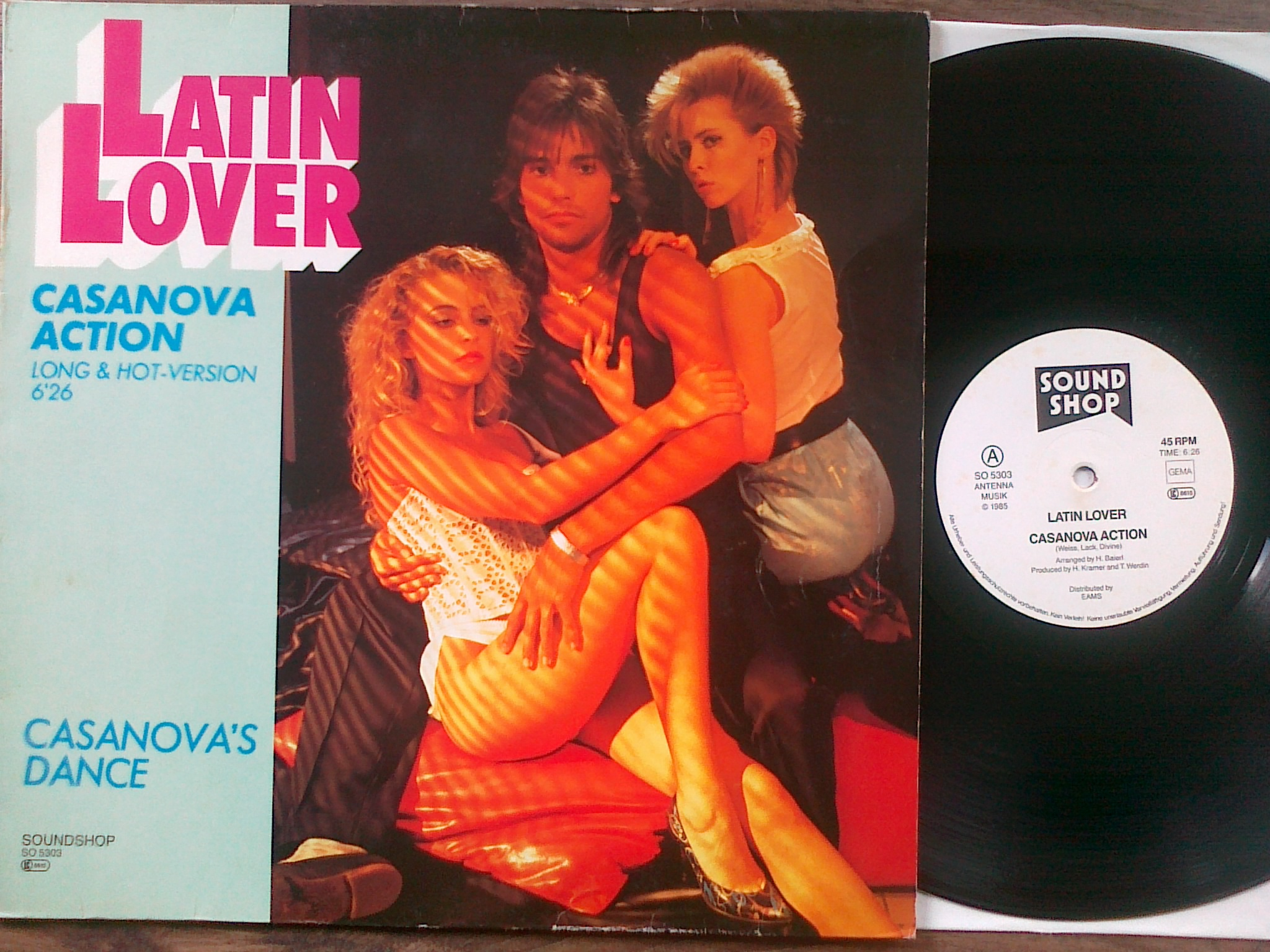 Latin Lover - Casanova action