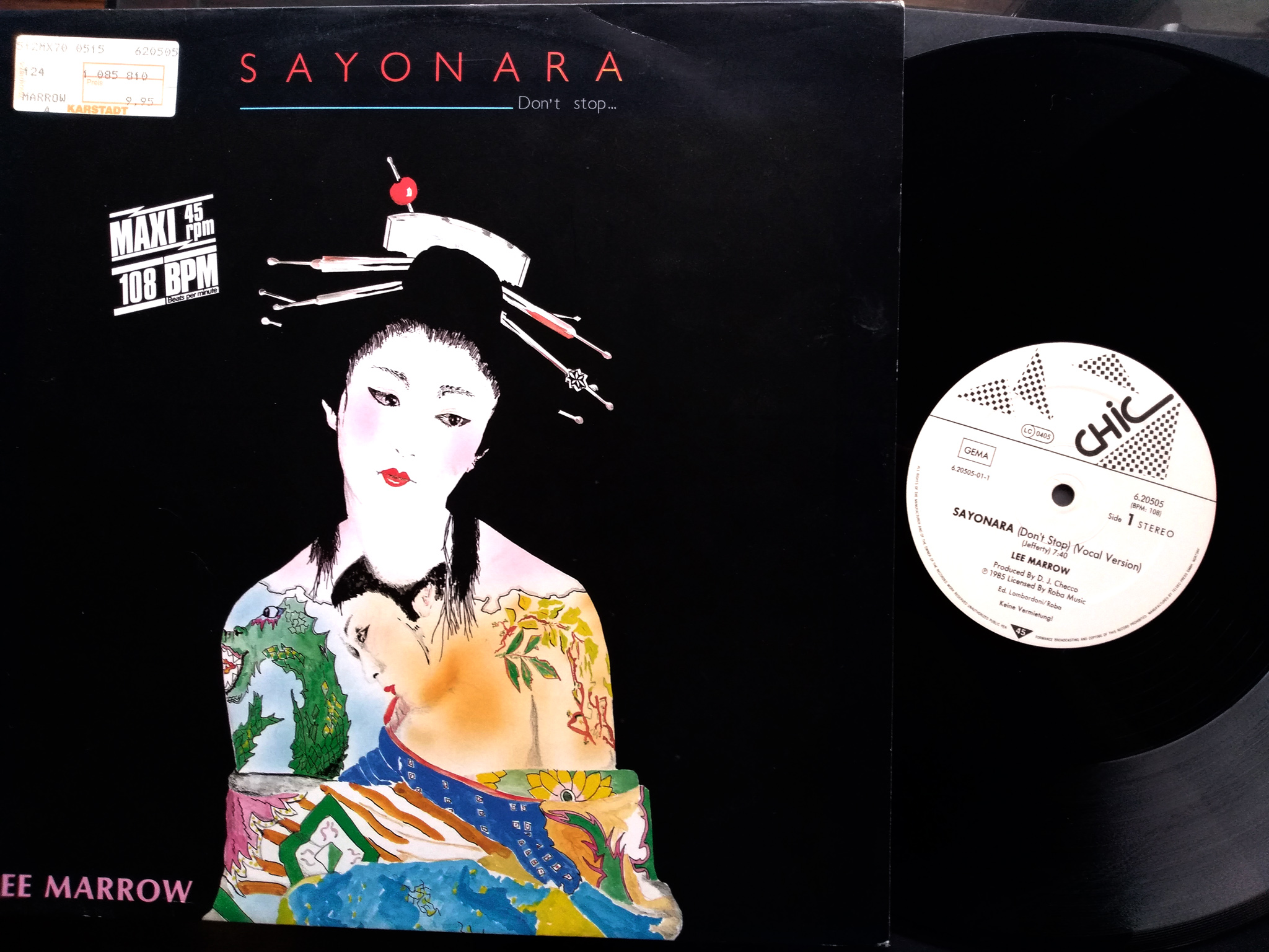 Lee Marrow - Sayonara