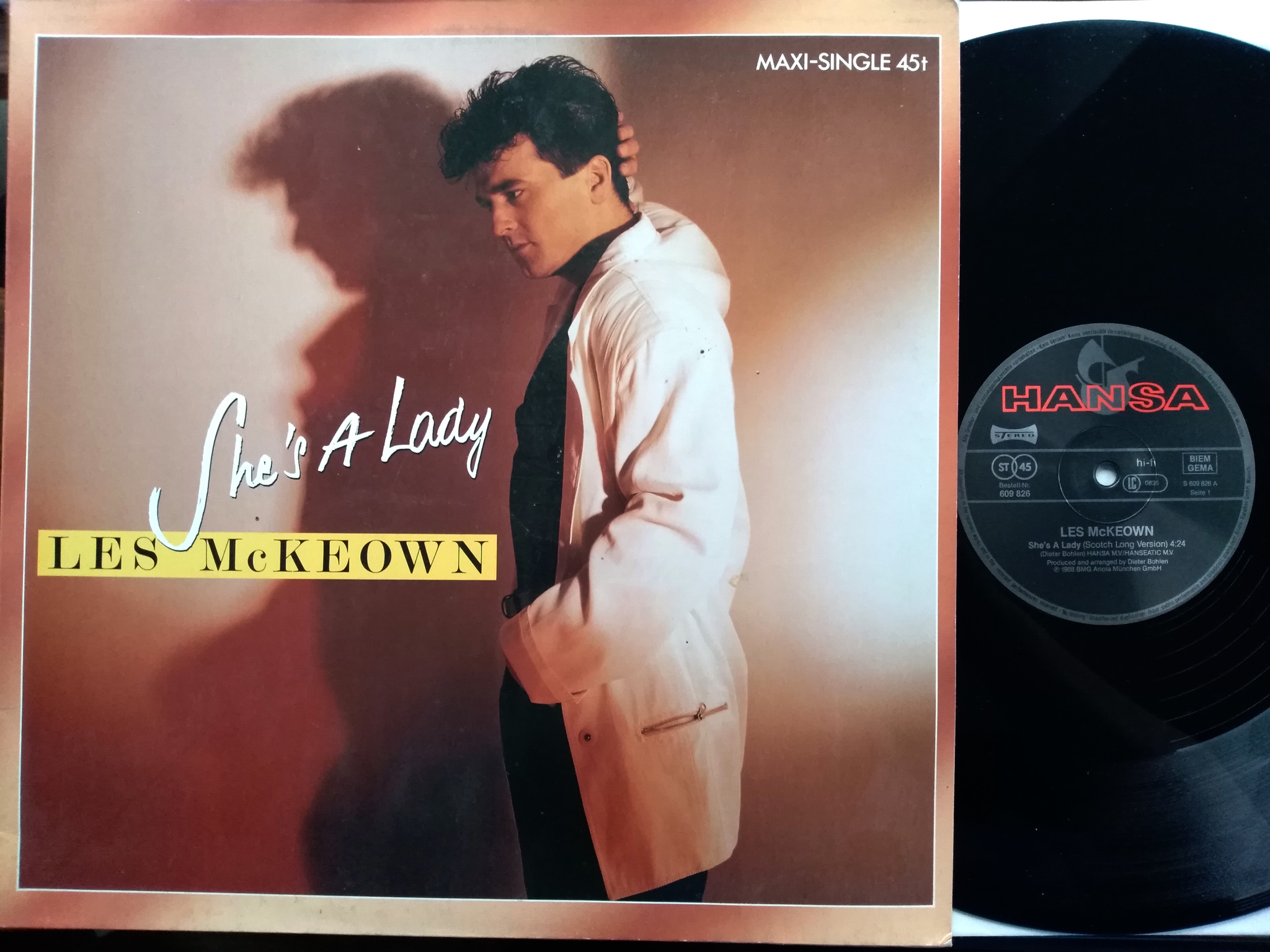 Les McKeown - She's A Lady