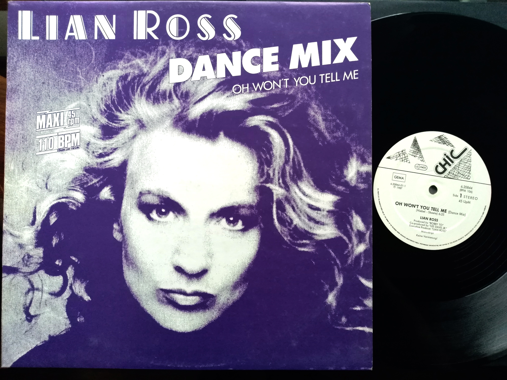 Lian Ross - Oh Wont You Tell Me
