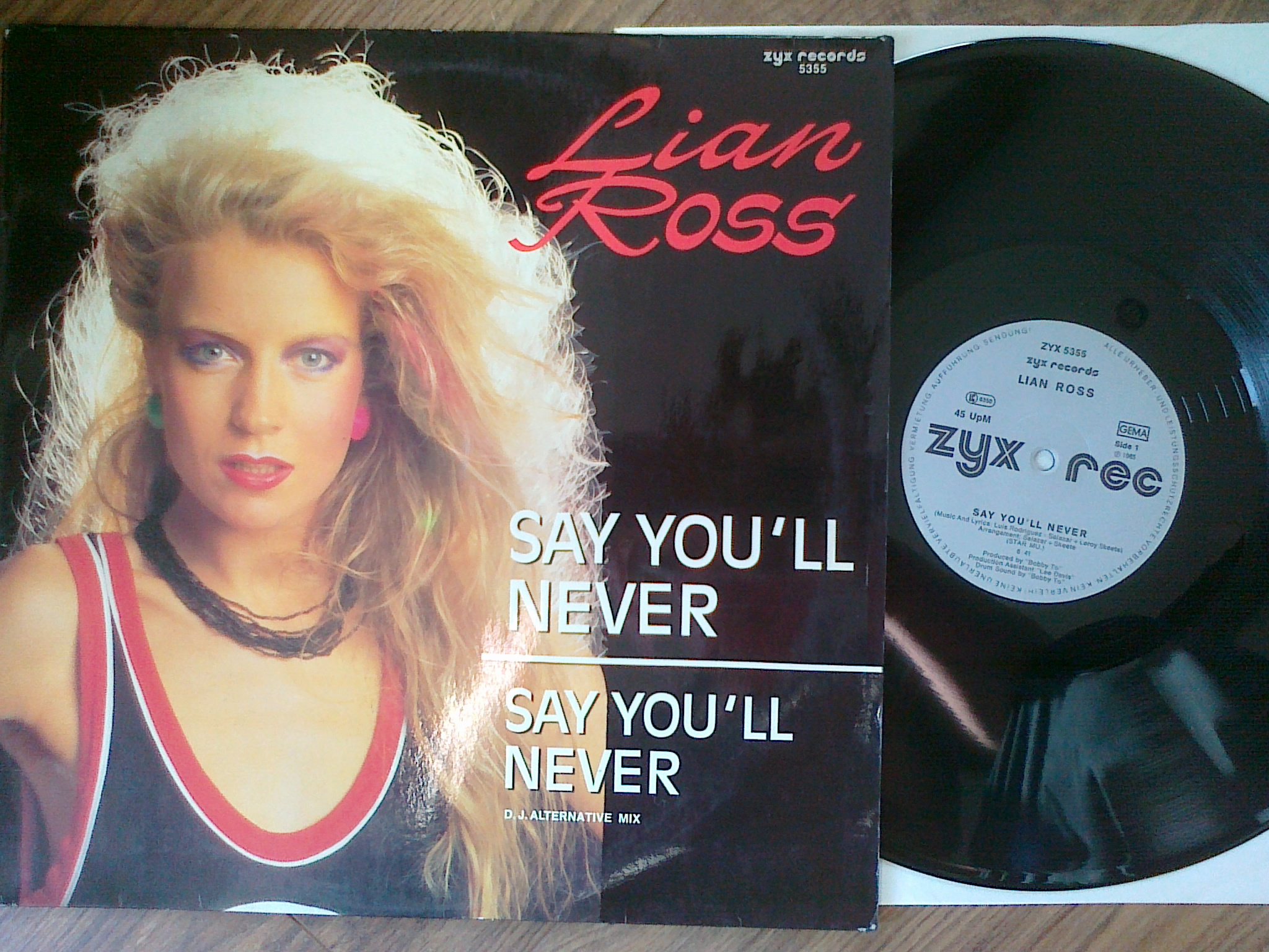 Lian Ross ‎- Say You'll Never