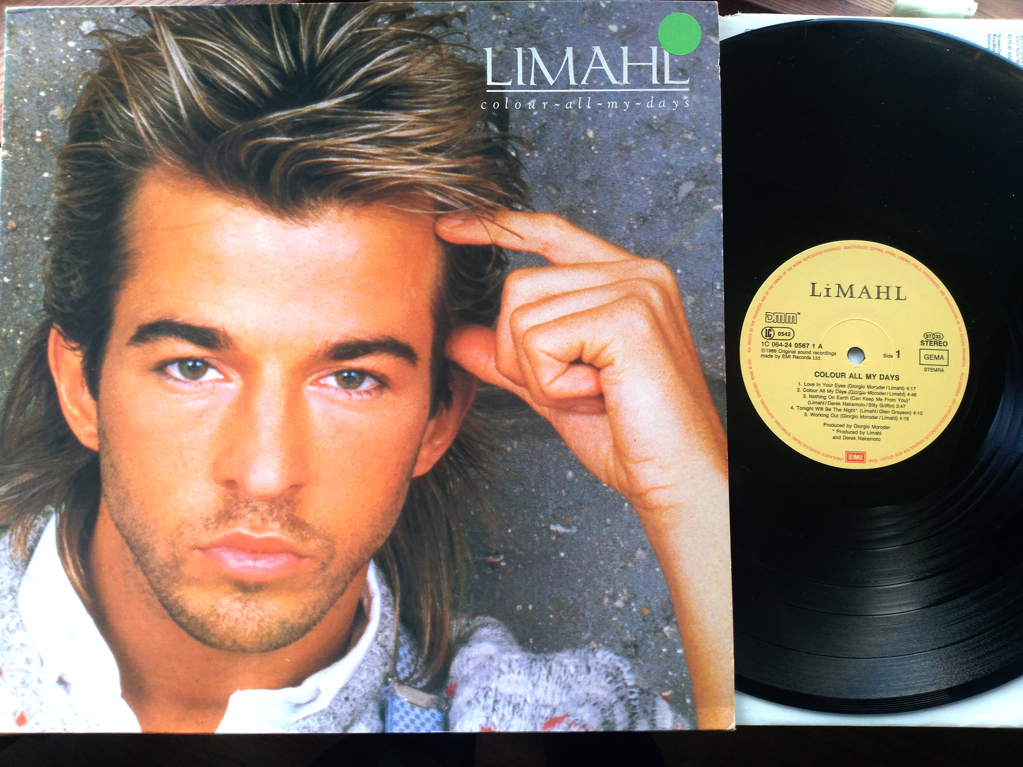 Limahl - Colour all my day LP