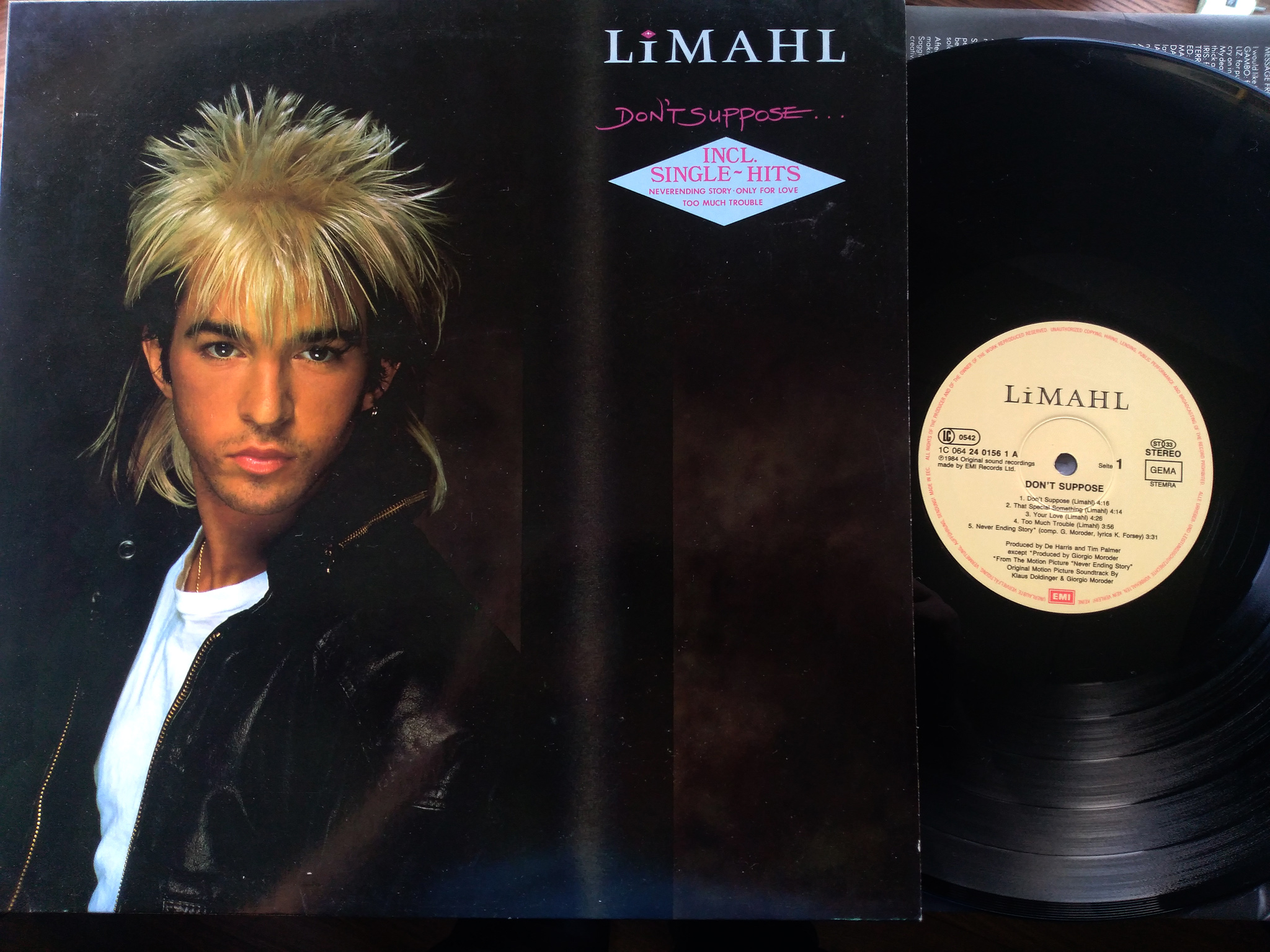 Limahl - Don't Suppose LP
