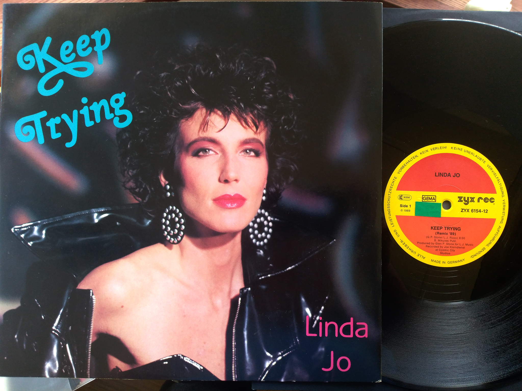 Linda Jo Rizzo -  Keep trying