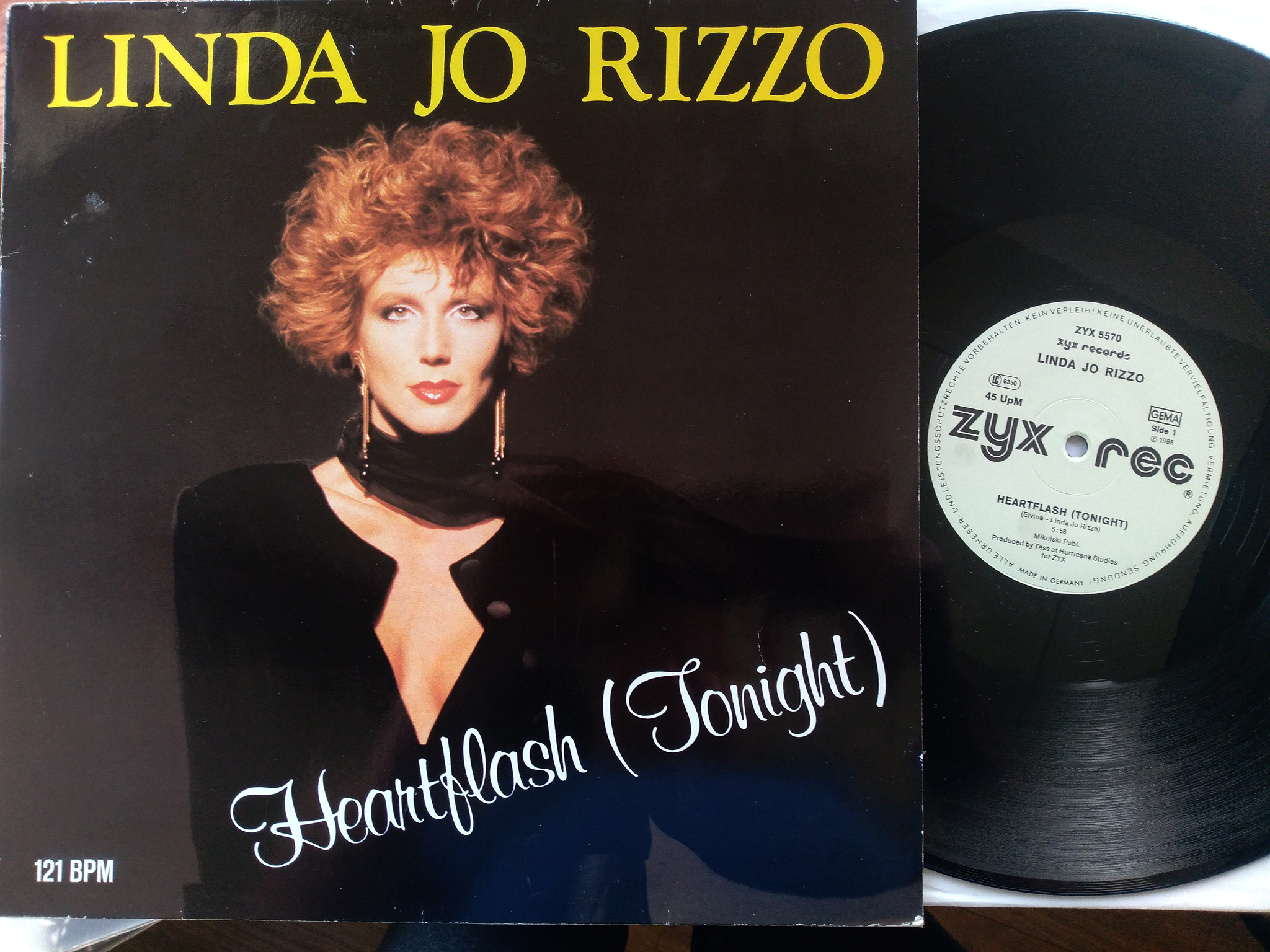 Linda Jo Rizzo - Heartflash (Tonight)