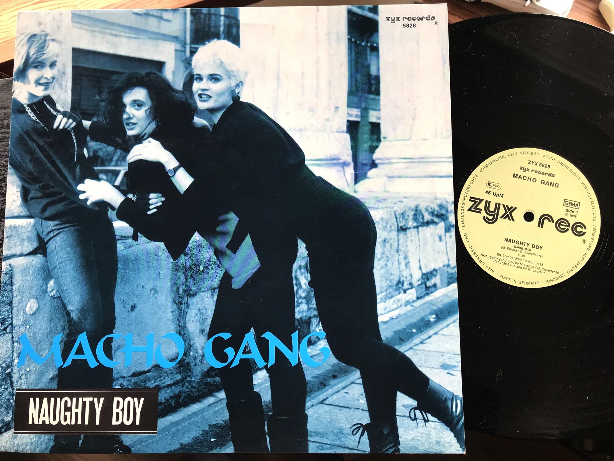 Macho Gang - Naughty Boy
