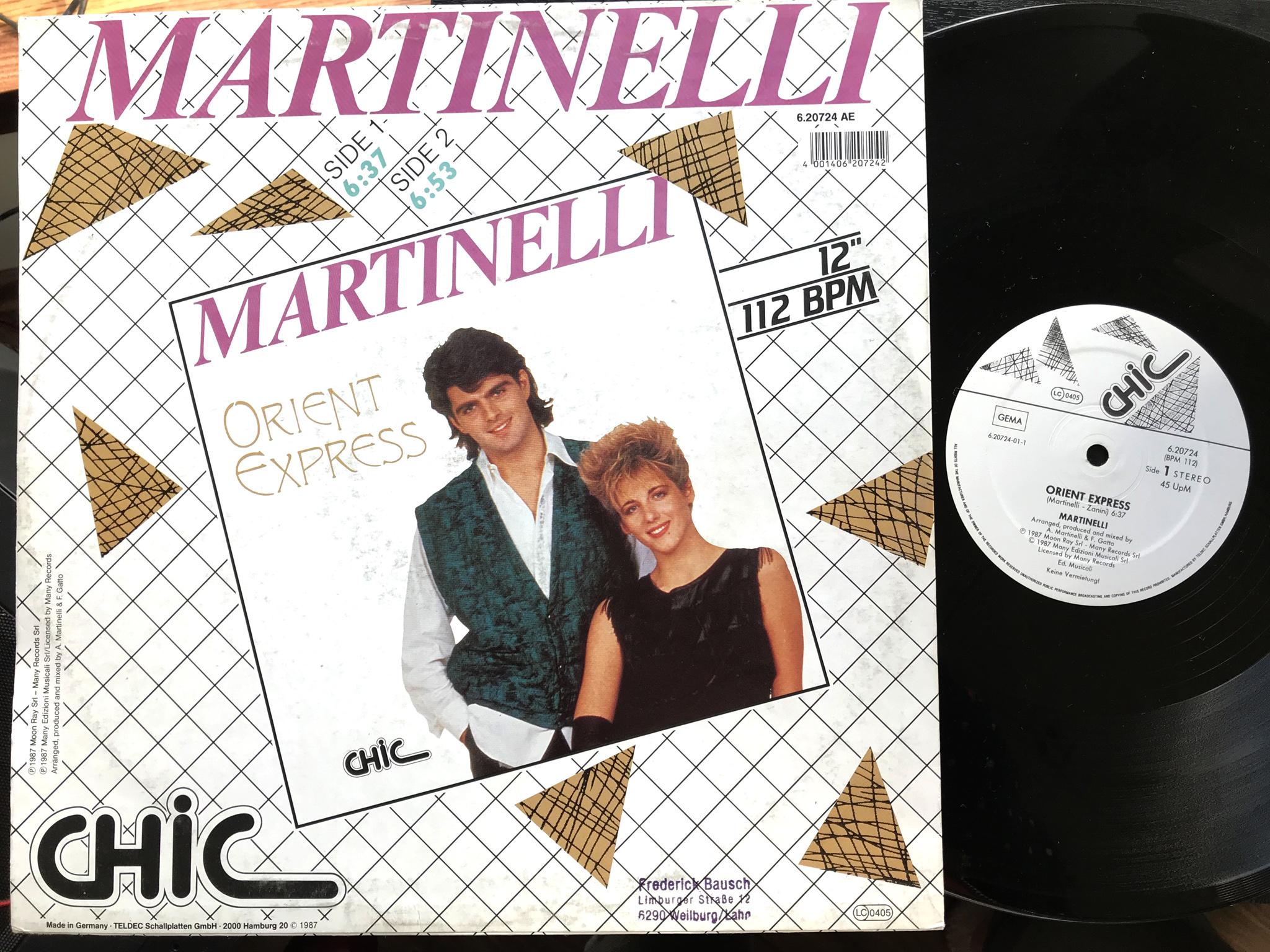 Martinelli - Orient Express
