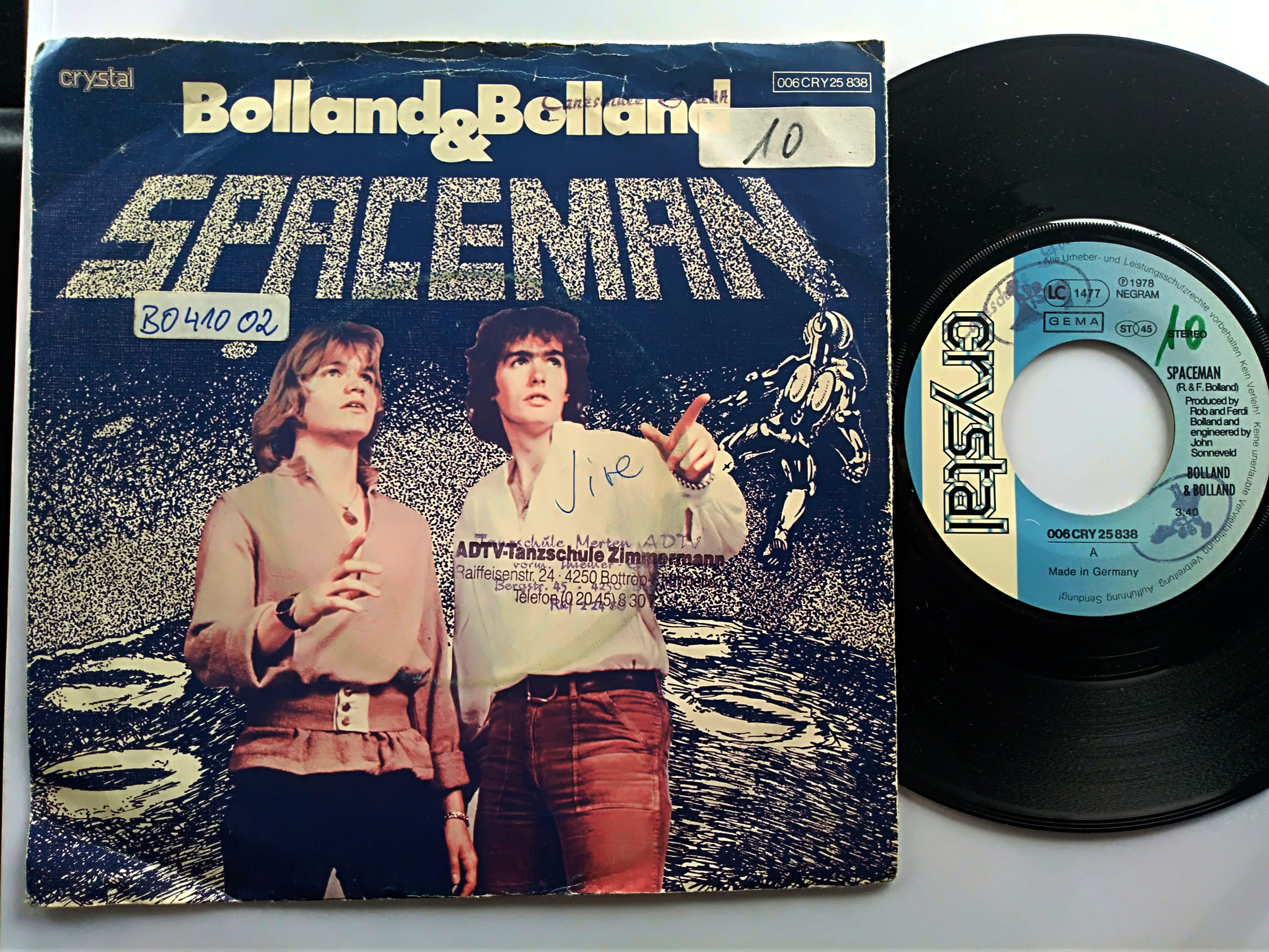 Bolland and Bolland - Spaceman 7'