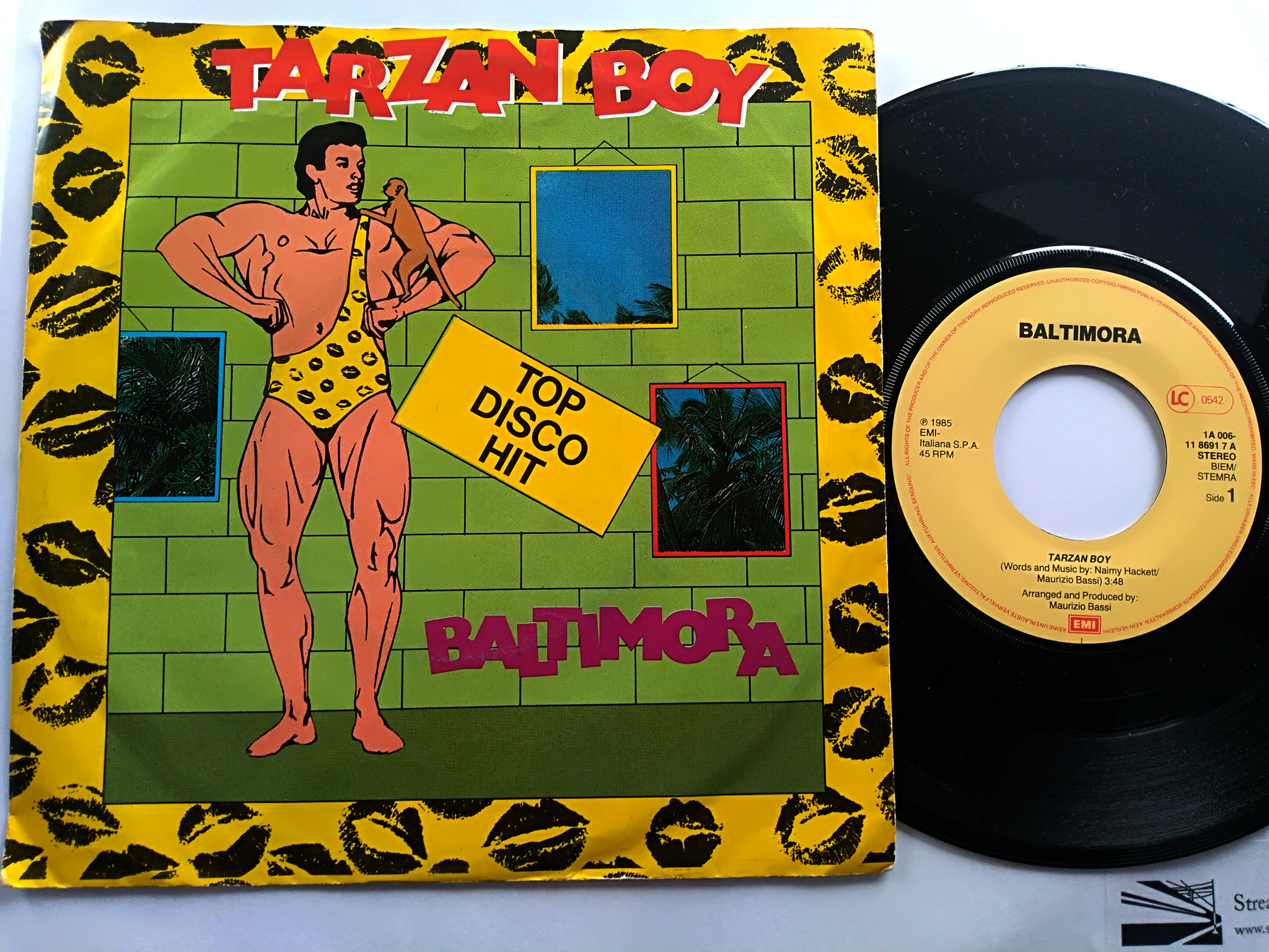Baltimora - Tarzan Boy 7'