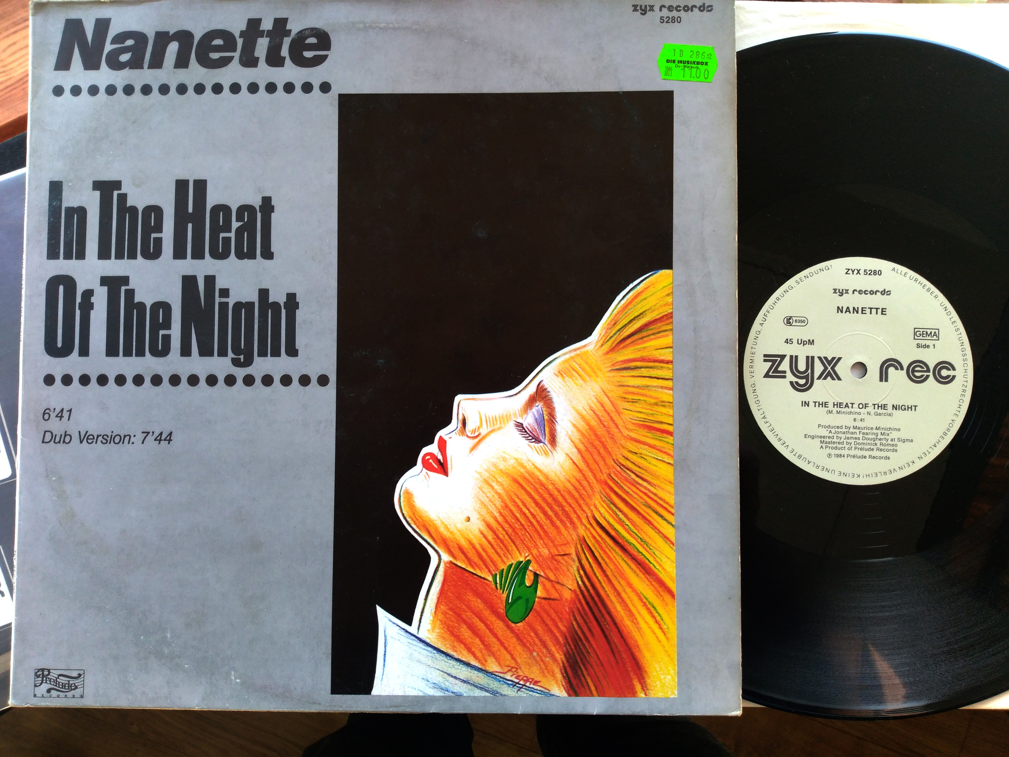 Nanette - In The Heat Of The Night