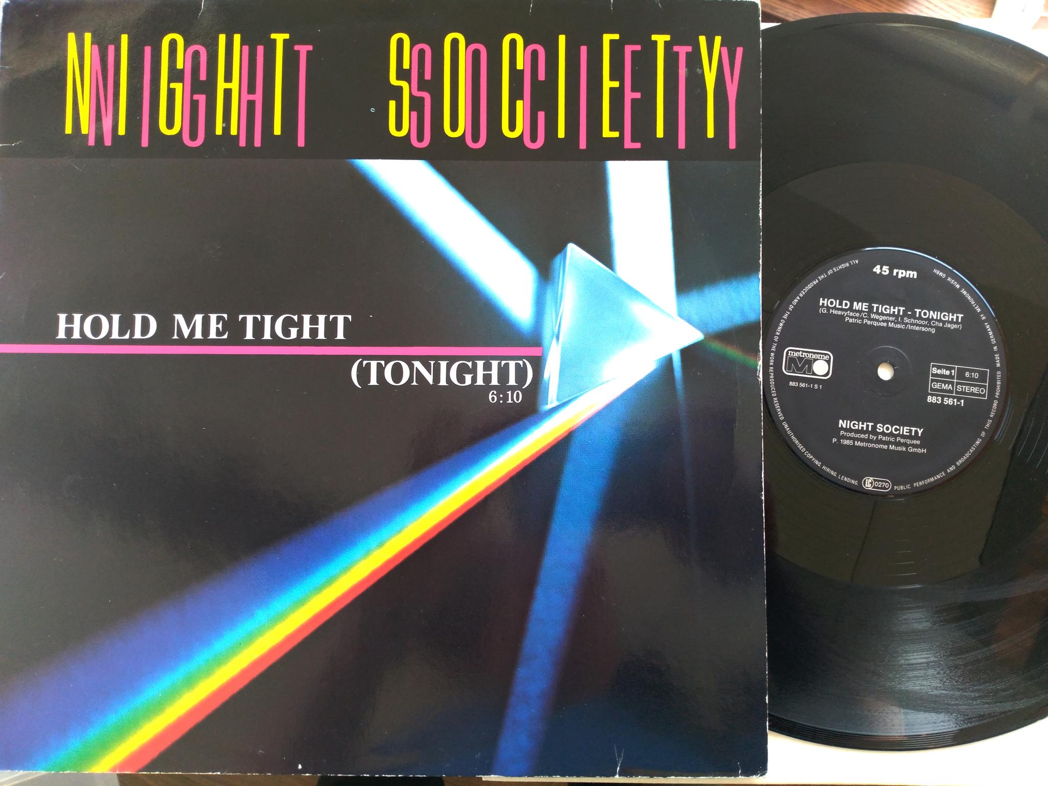 Night Society - Hold Me Tight - Tonight