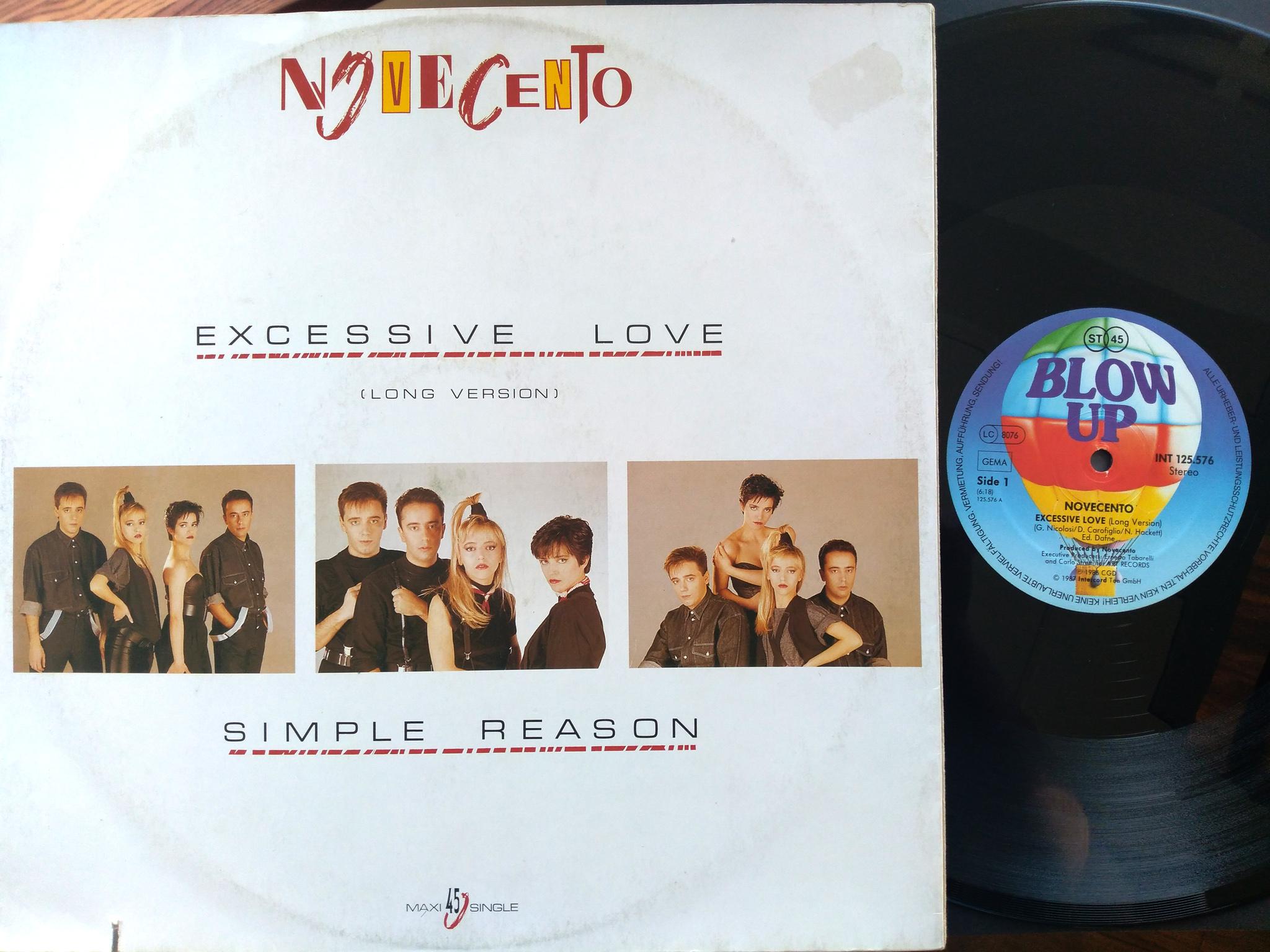 Novecento - Excessive Love