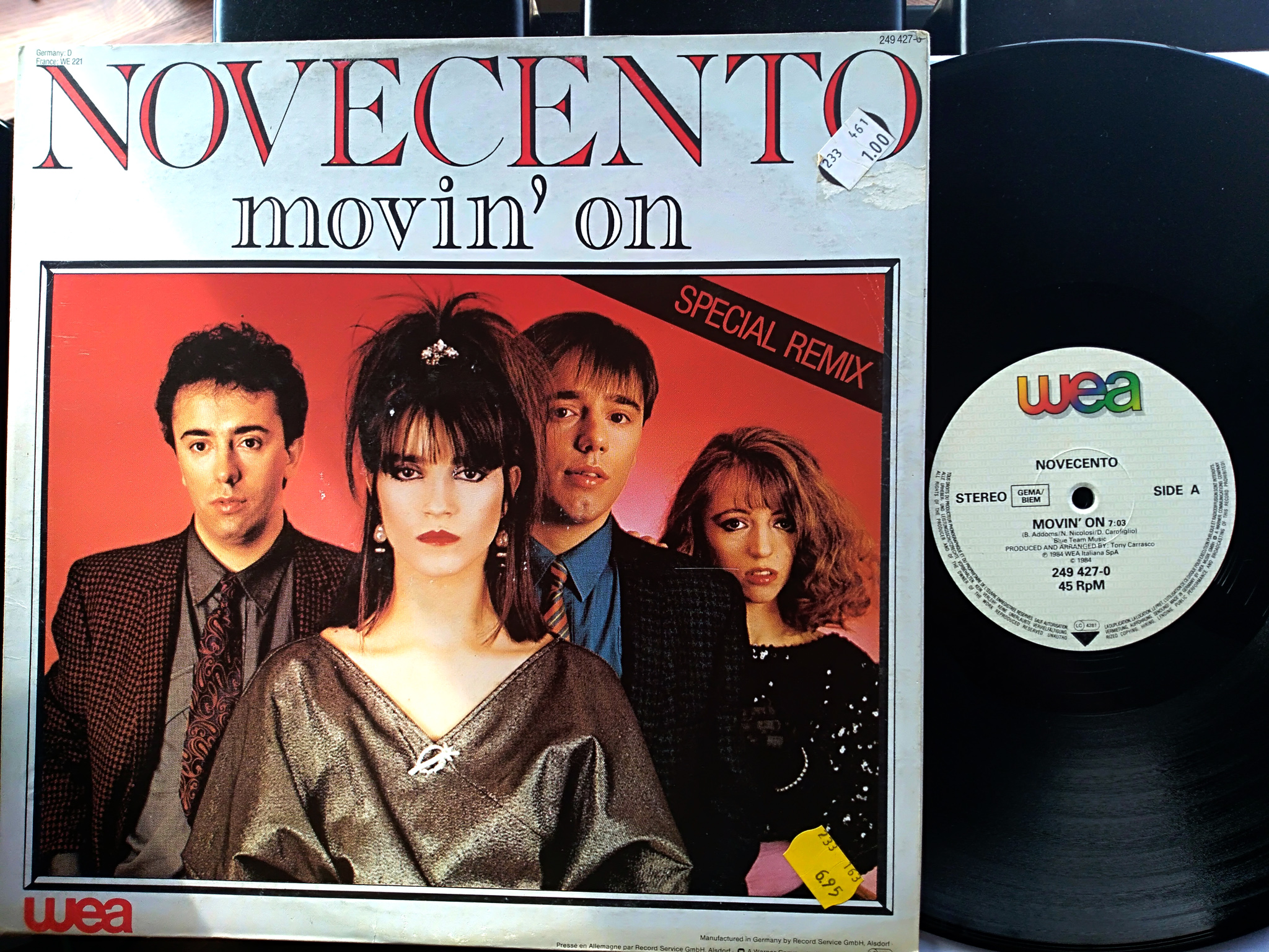 Novecento - Movin'on (Special Remix)