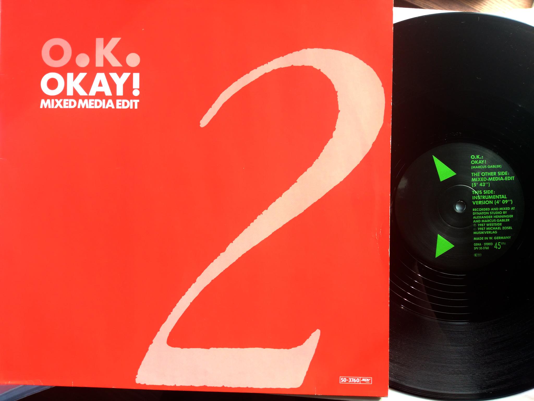 O.K. - Okay