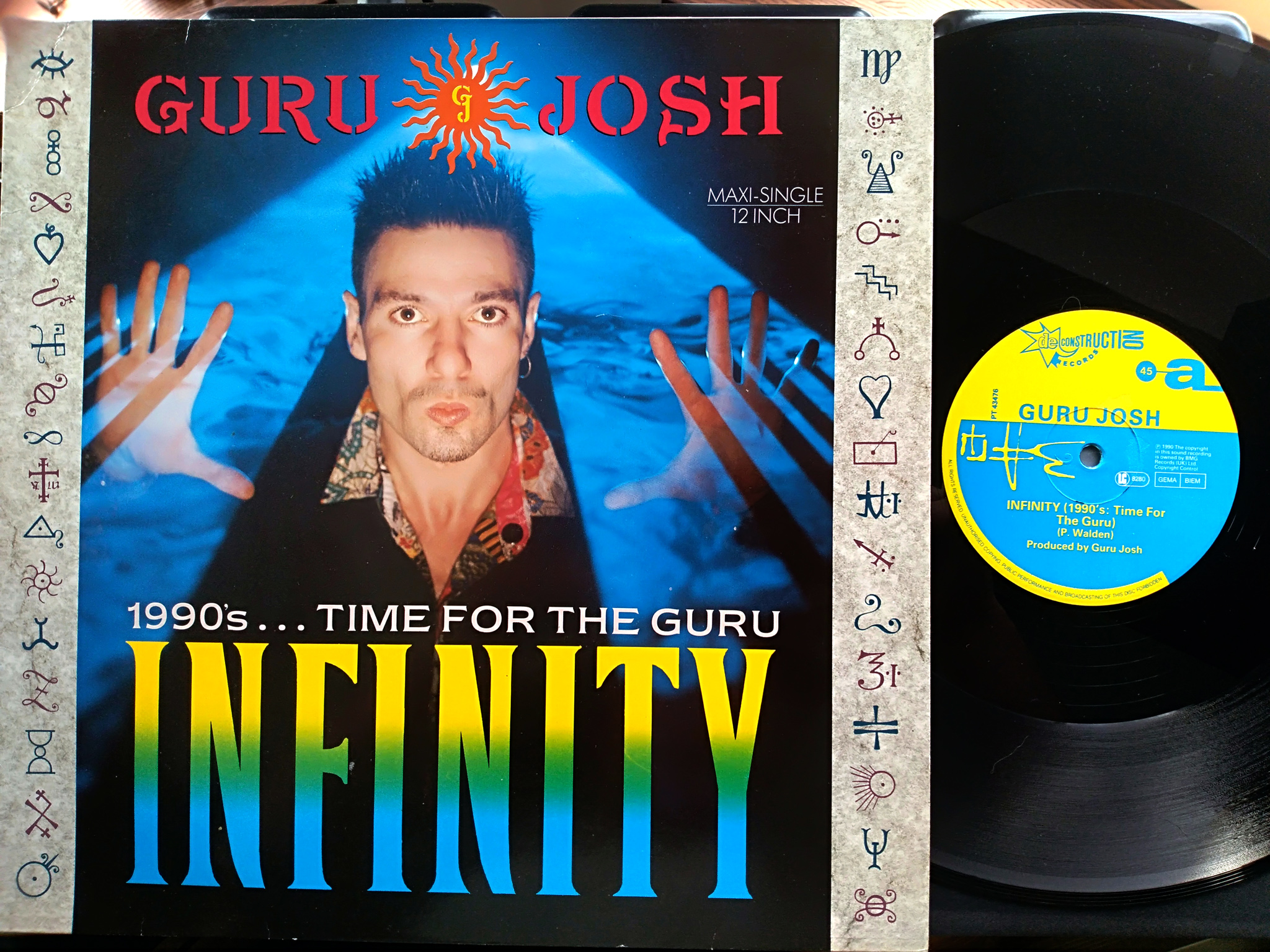 Guru Josh - Infinity (1990s Time For The Guru)