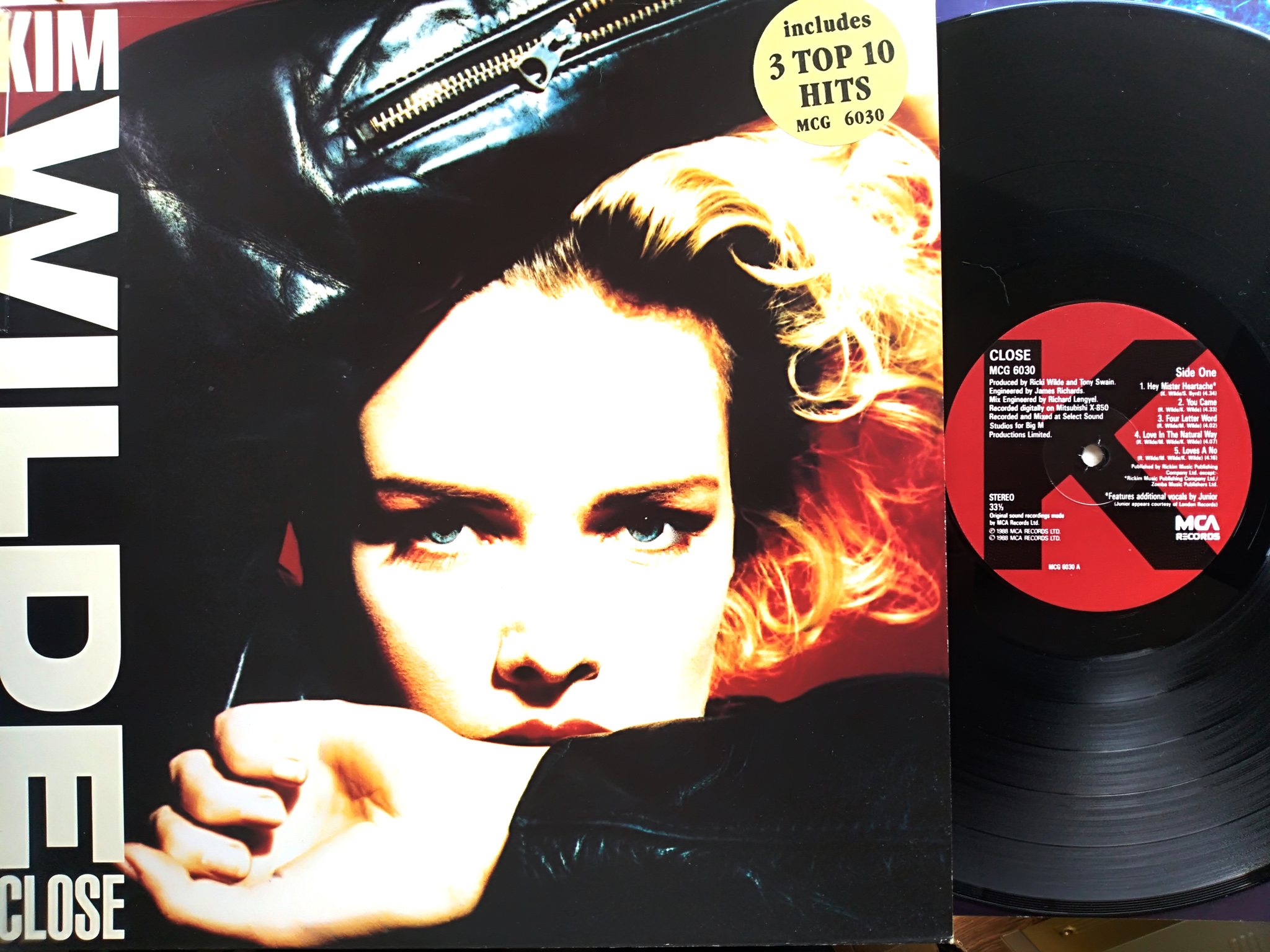 Kim Wilde - Close LP