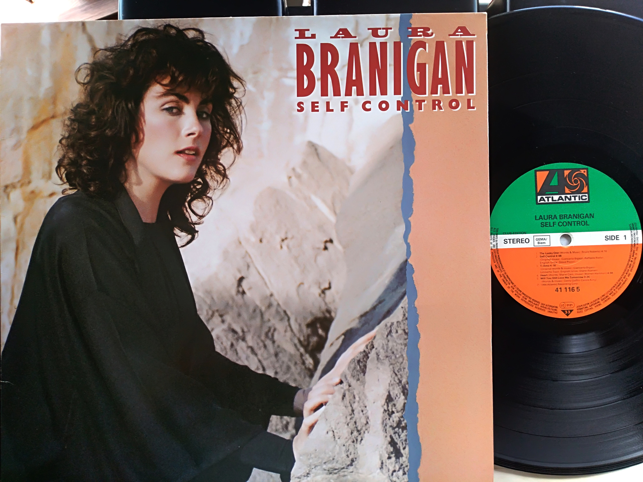 Laura Branigan ‎- Self Control LP