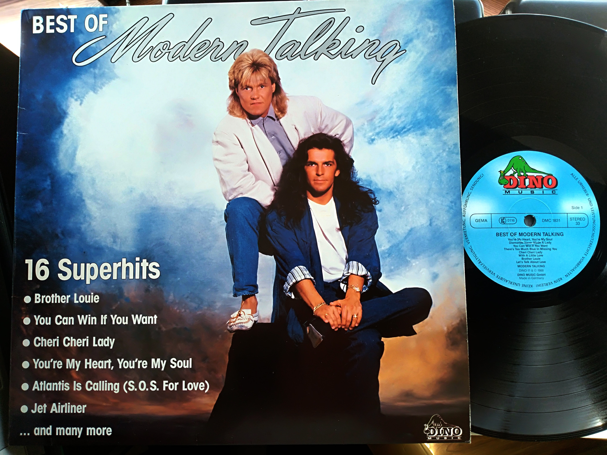 Modern Talking - Best Of Lp