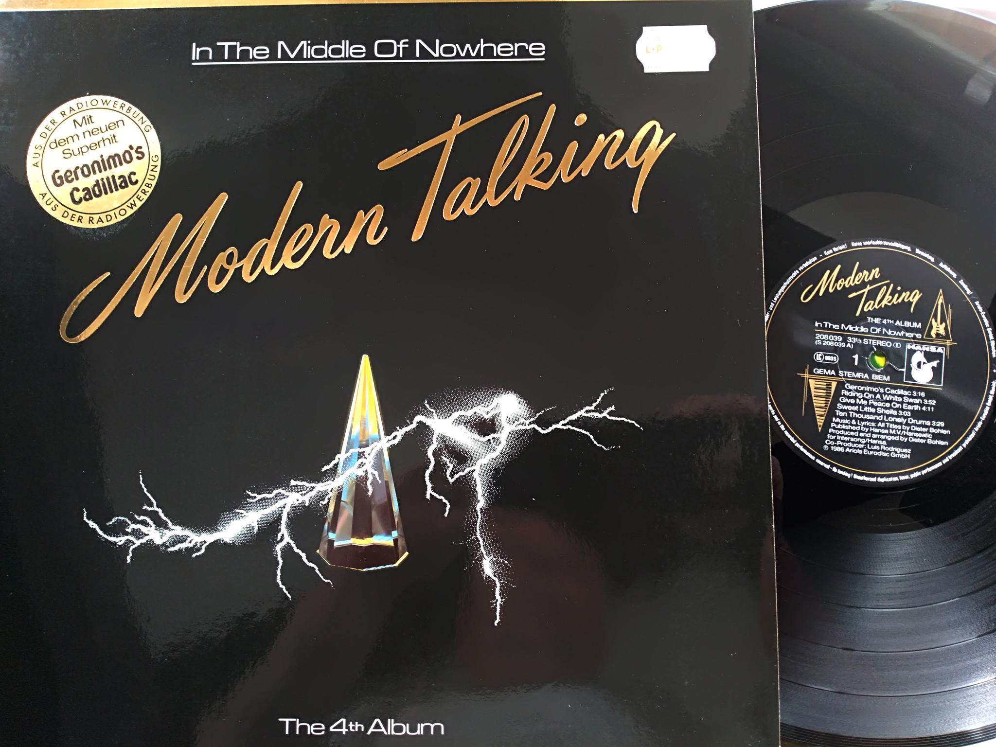 Modern Talkking - In The Middle of  Nowhere 4album