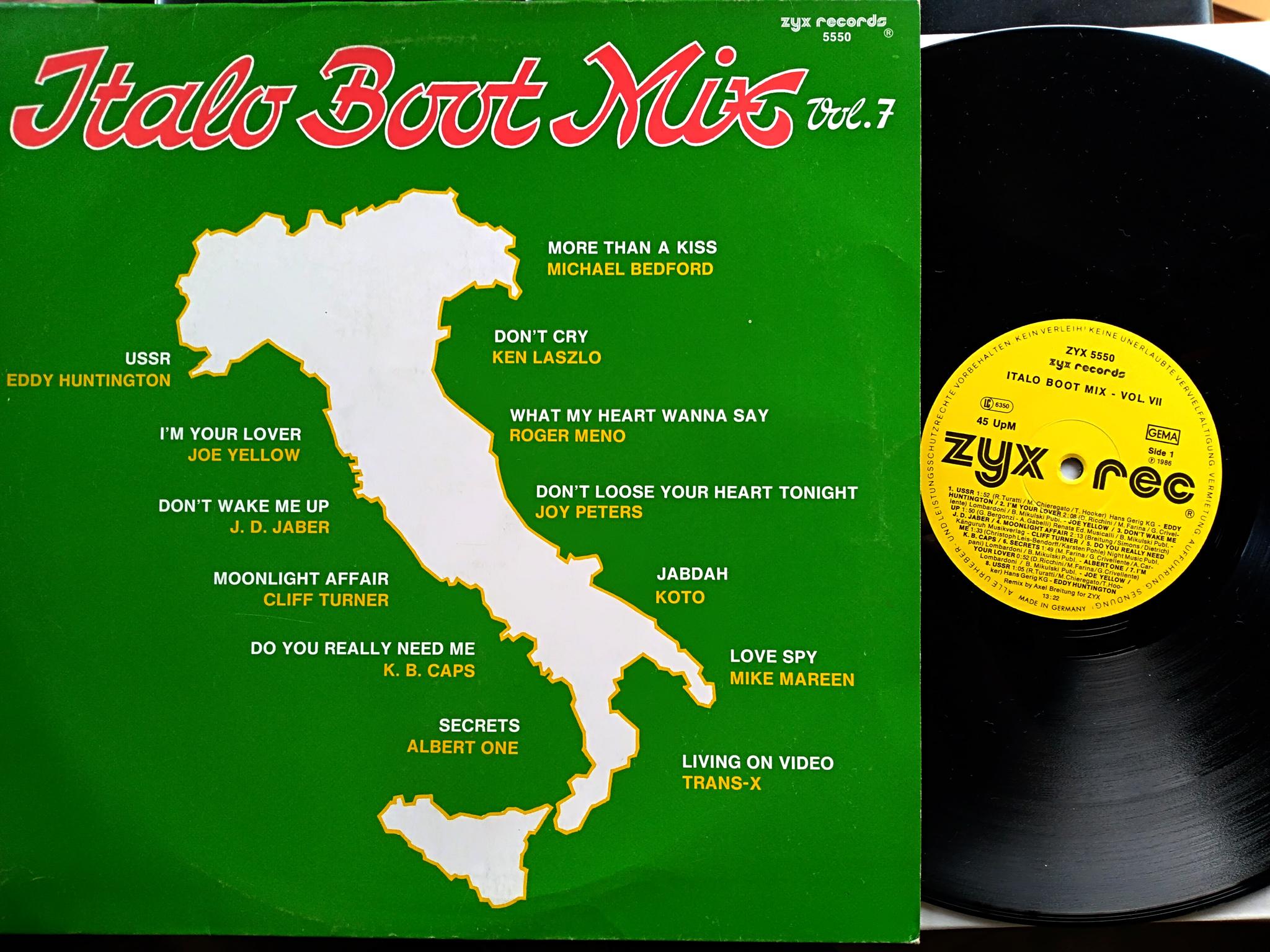 Italo Boot Mix - Vol.07 1986