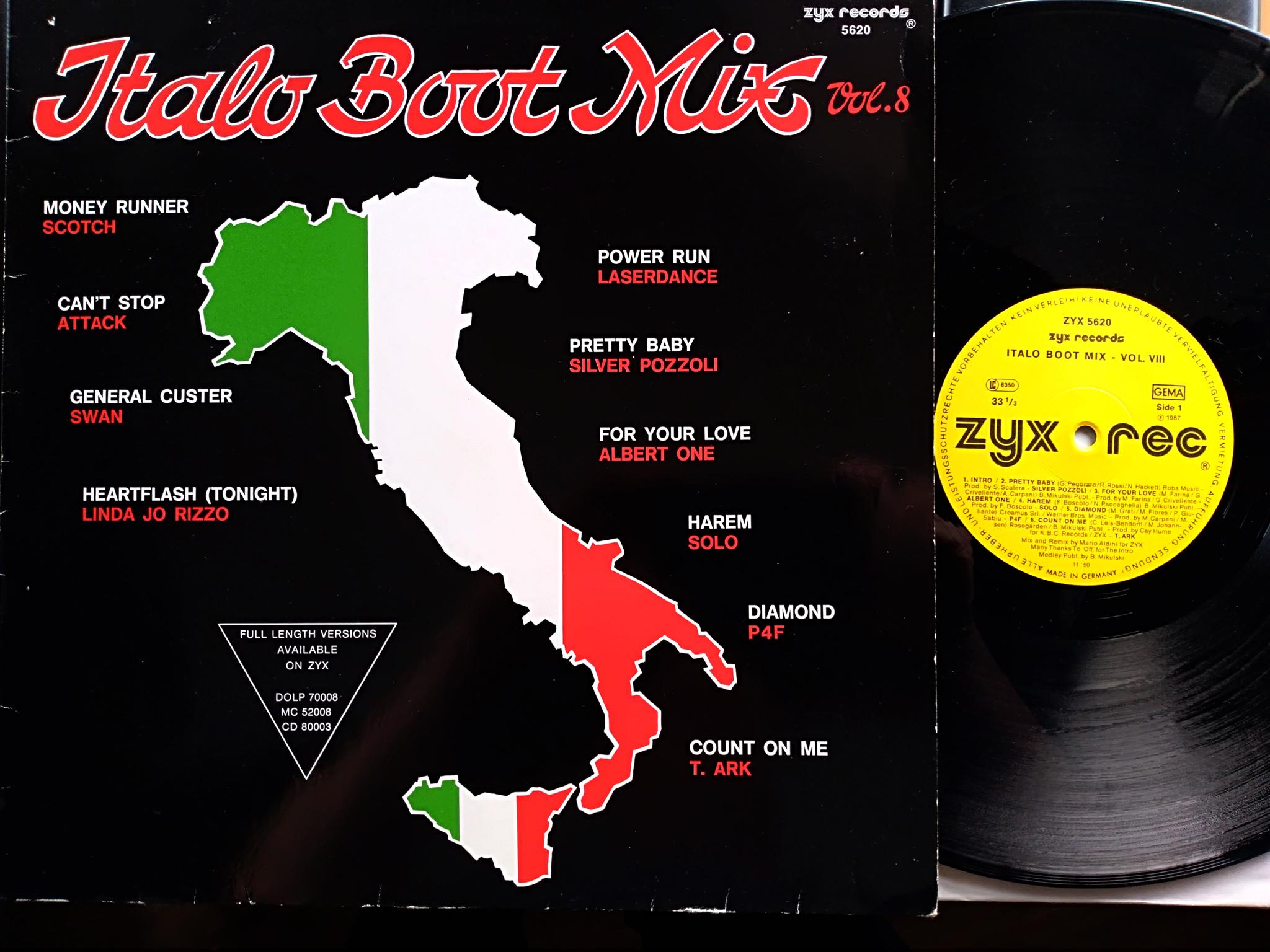 Italo Boot Mix - Vol.08 1987