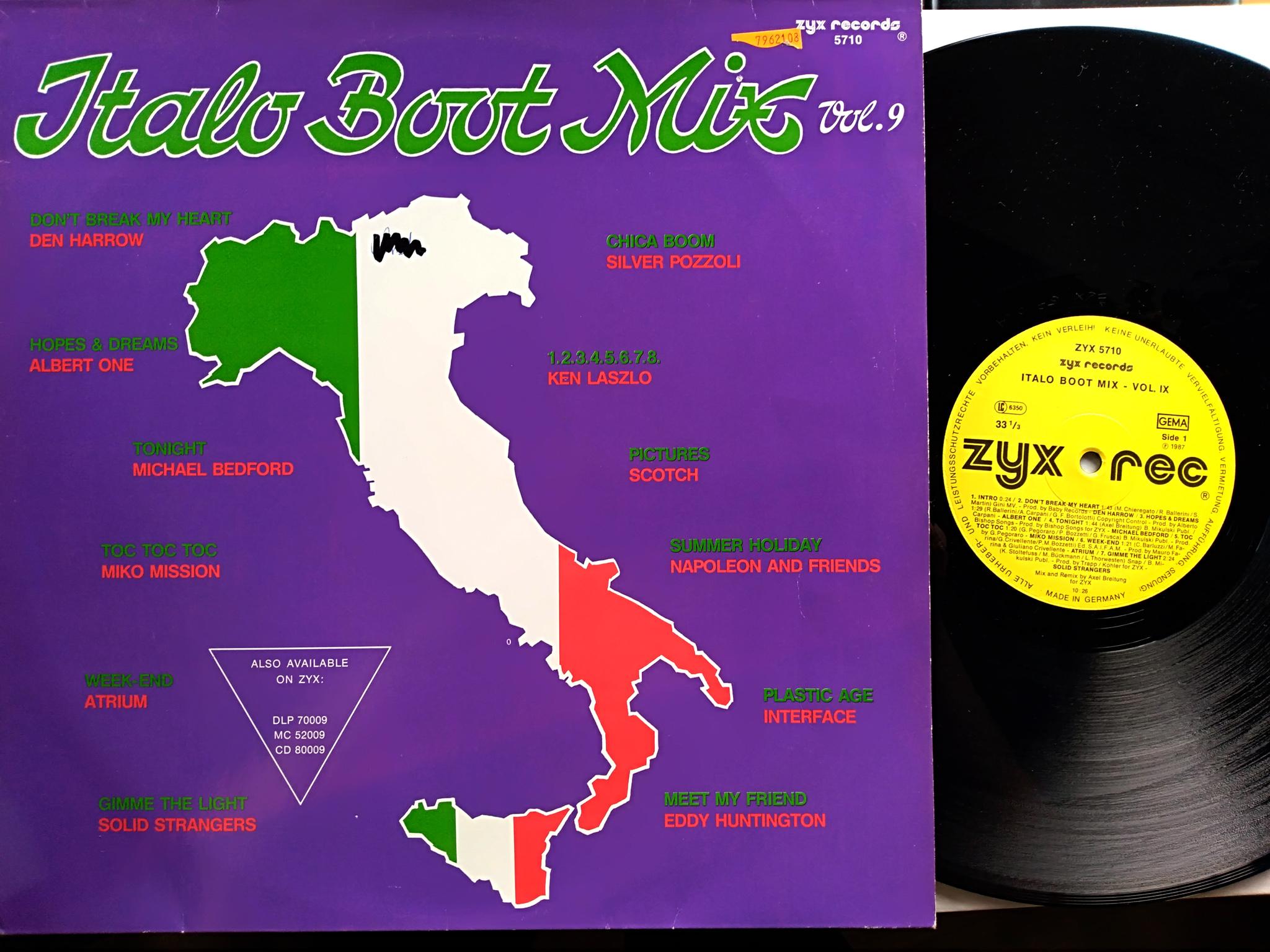 Italo Boot Mix - Vol.09 1987
